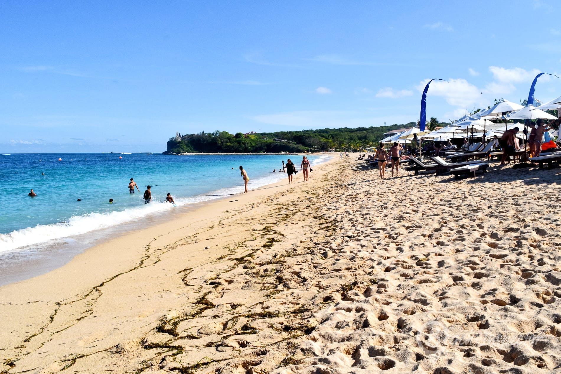 Strand Geger Beach, Bali, Indonesien