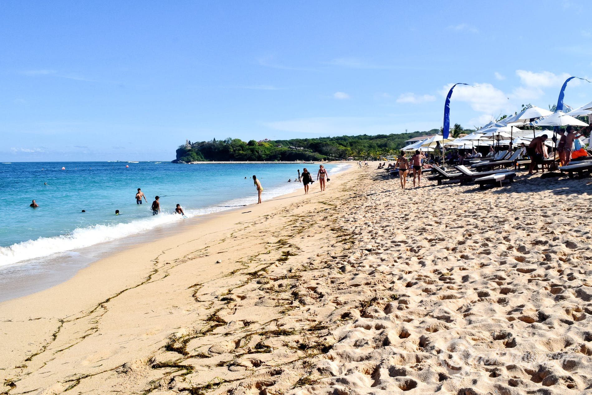 Beach Geger Beach, Bali, Indonesia