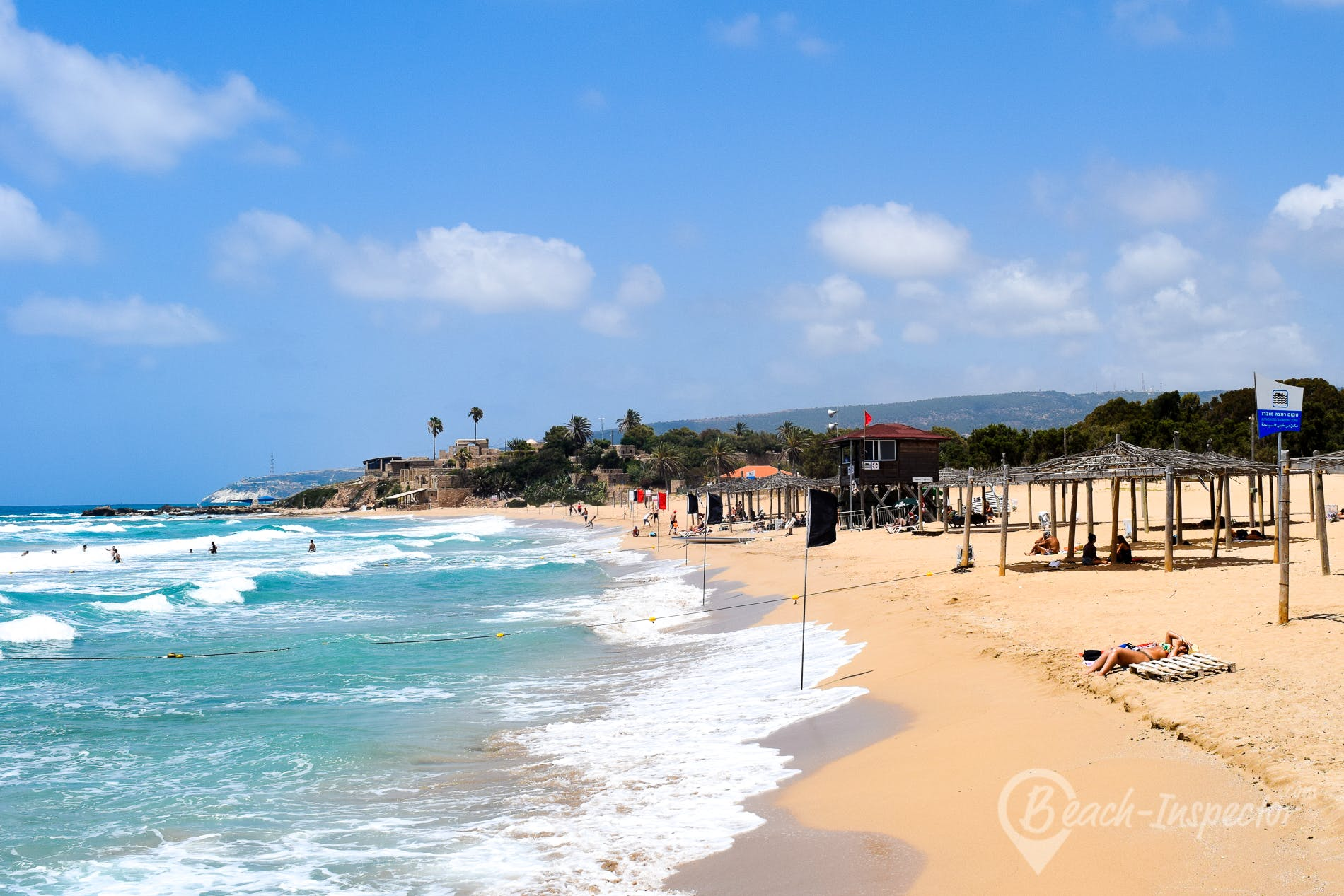 Playa Achziv Beach, Israel, Israel