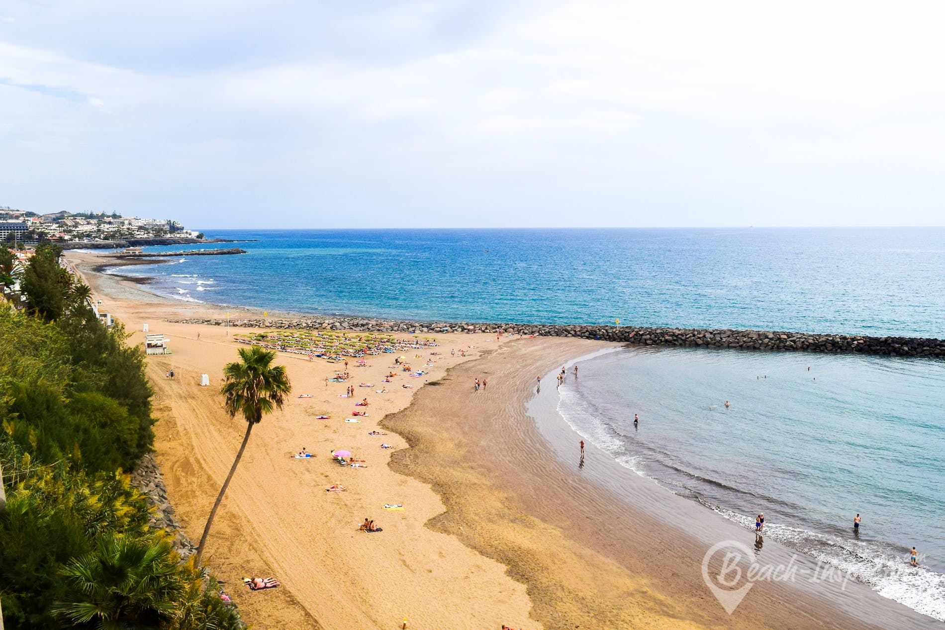 Beach Playa de Veril, Gran Canaria, Spain