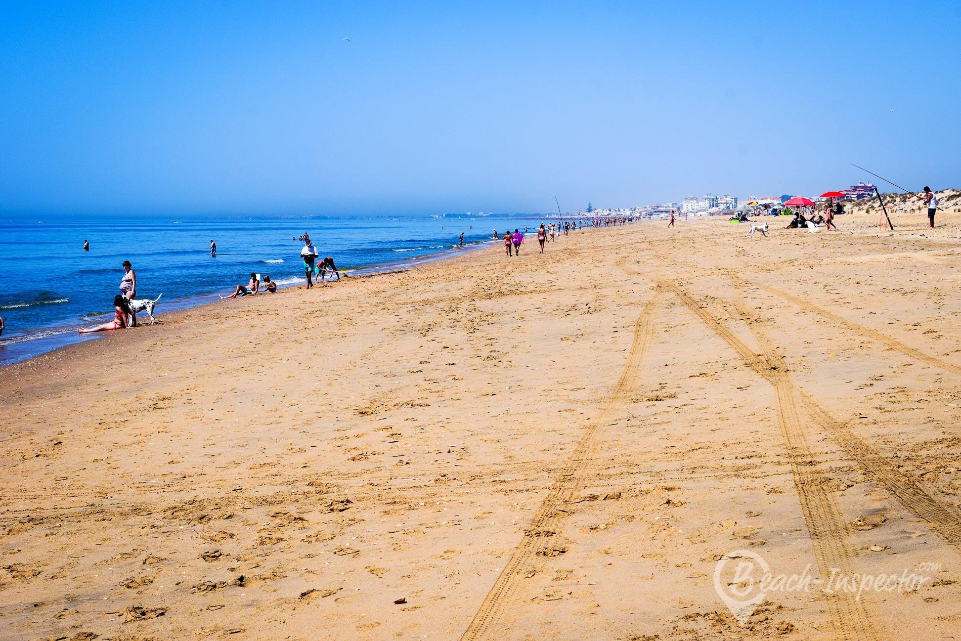 Beach Playa Nueva Umbría, Costa de la Luz, Spain