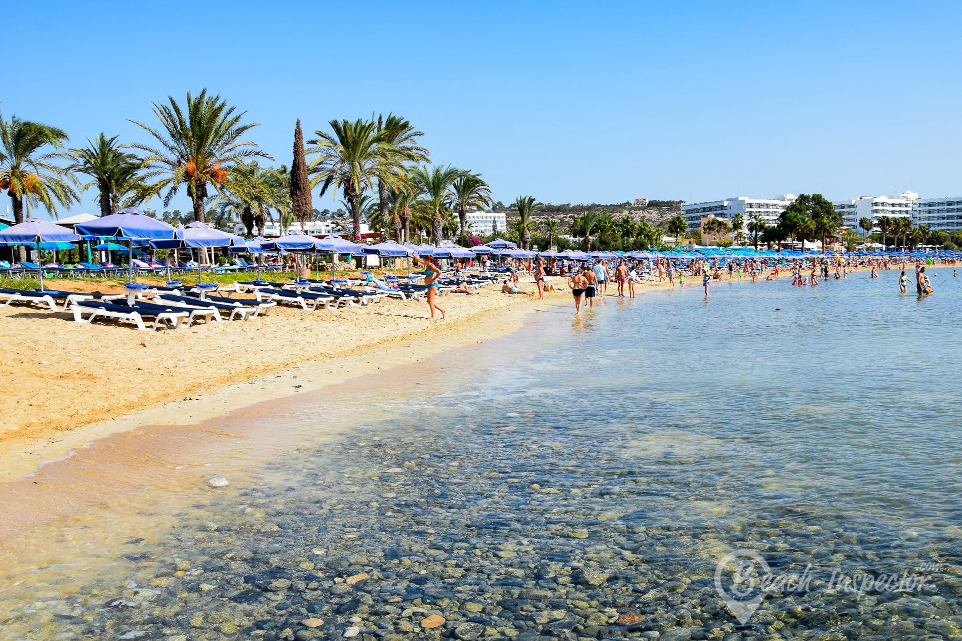 Beach Glyki Nero Beach, Cyprus, Cyprus