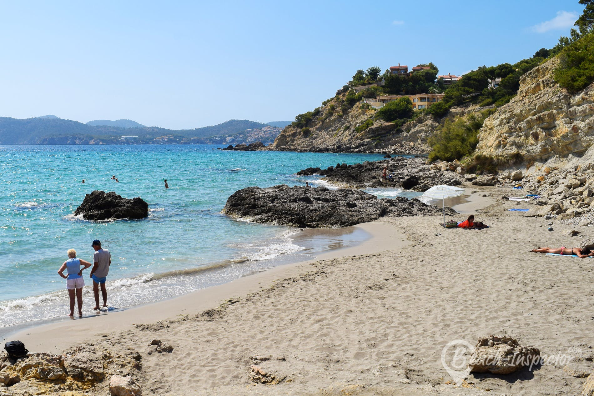 Beach Cala Blanca, Majorca, Spain