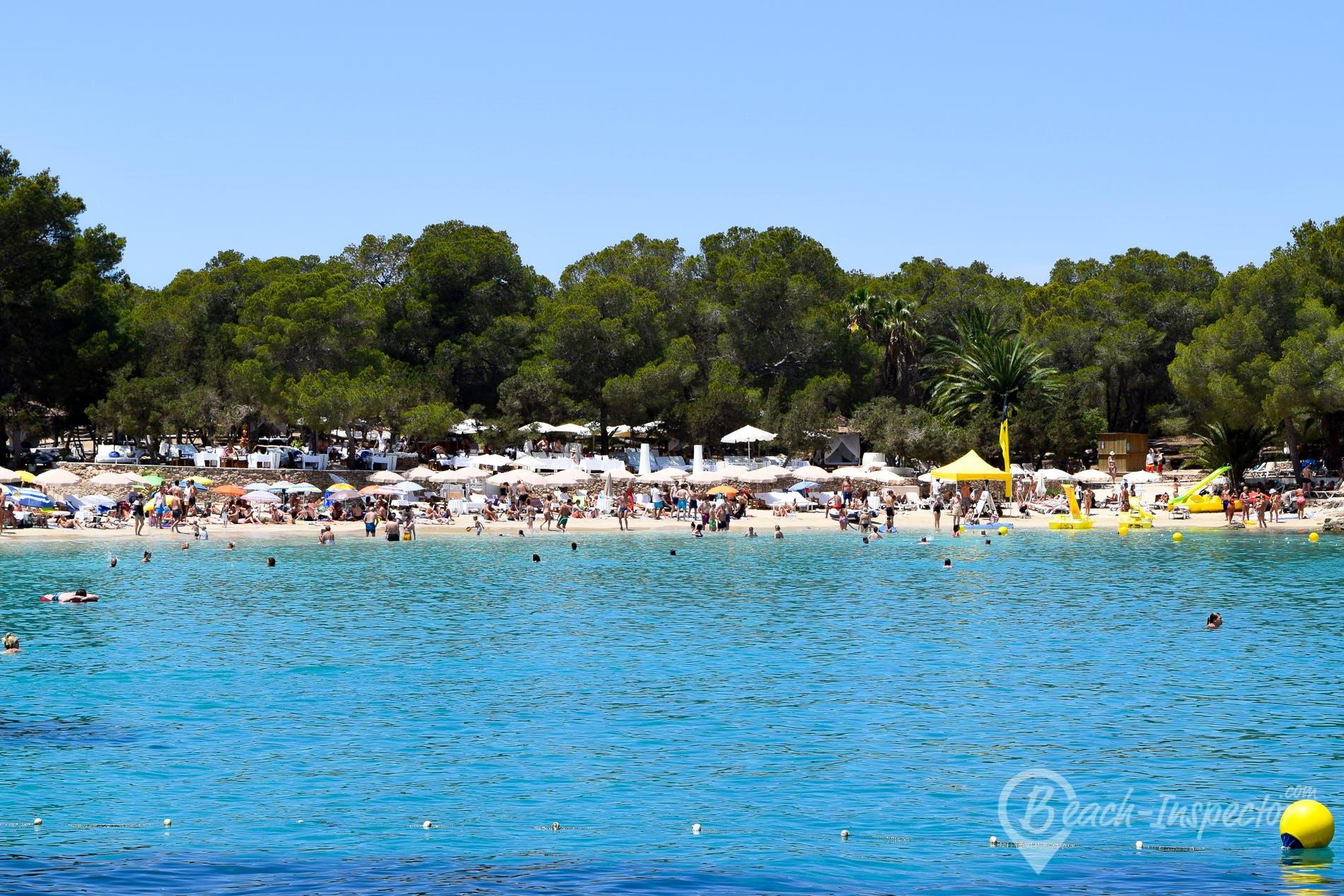 Playa Cala Bassa, Ibiza, España