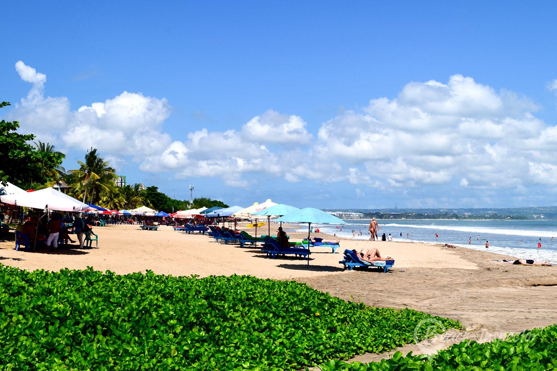 Strand Legian Beach, Bali, Indonesien
