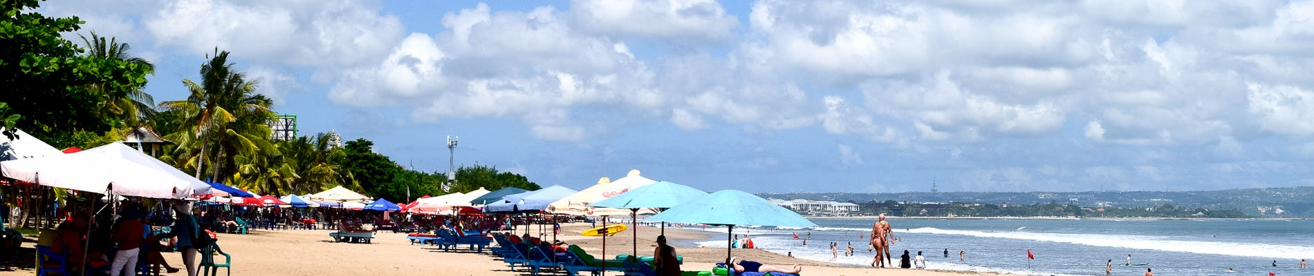 Legian Beach Lively In The Heart Of Bali