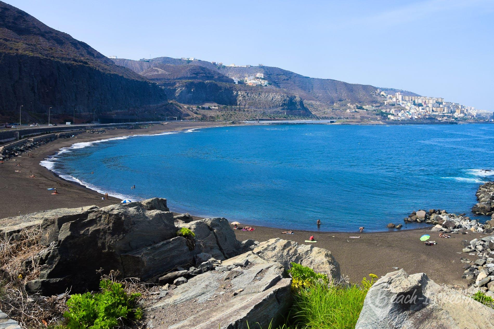 Playa Playa de La Laja, Gran Canaria, España