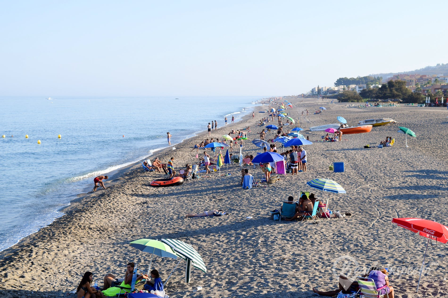 Playa Playa La Chullera, Costa del Sol, España