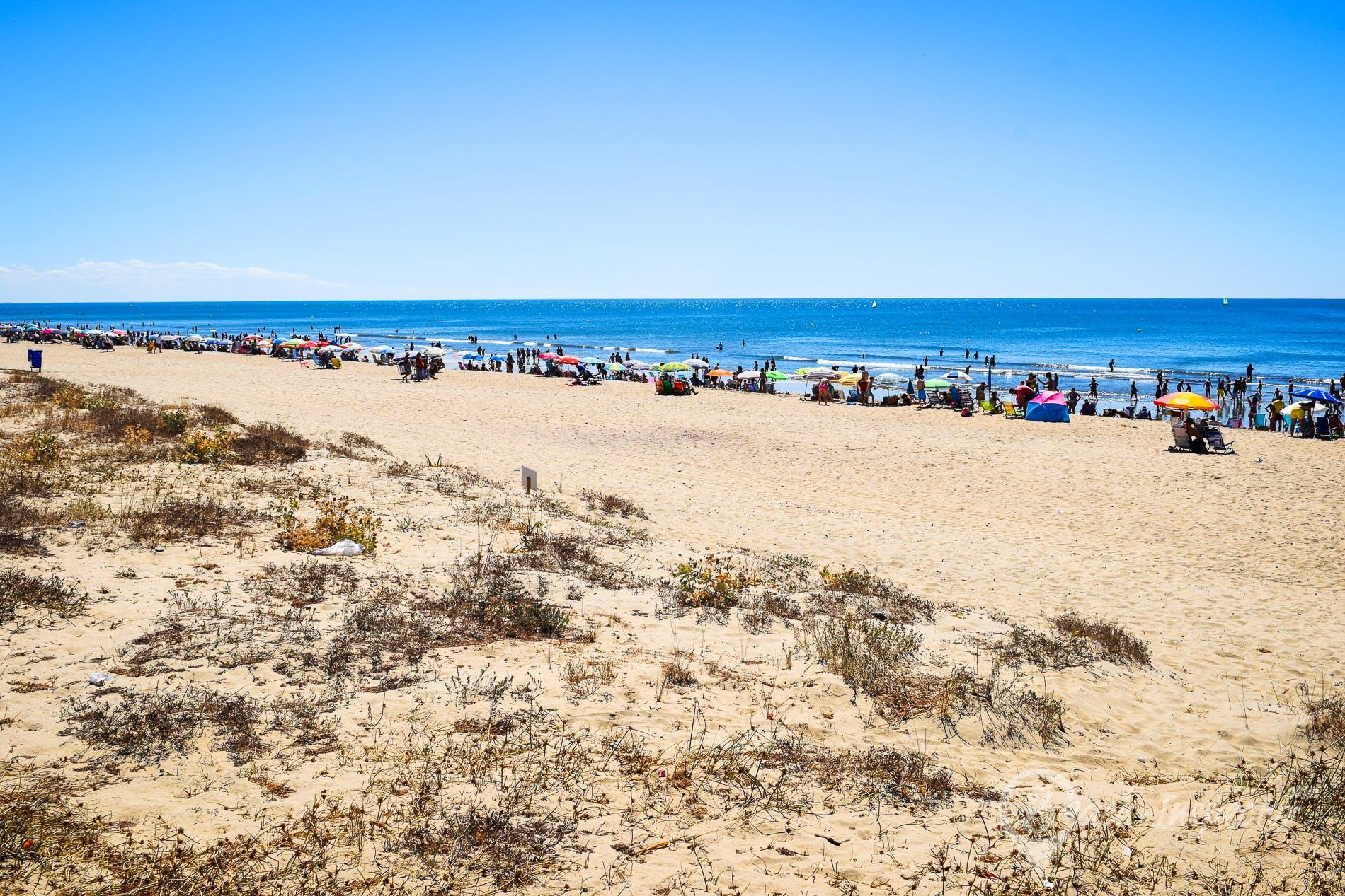 Playa Playa de La Antilla, Costa de la Luz, España