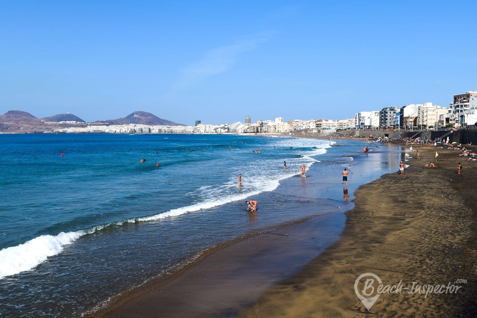 Playa Playa de Las Canteras, Gran Canaria, España