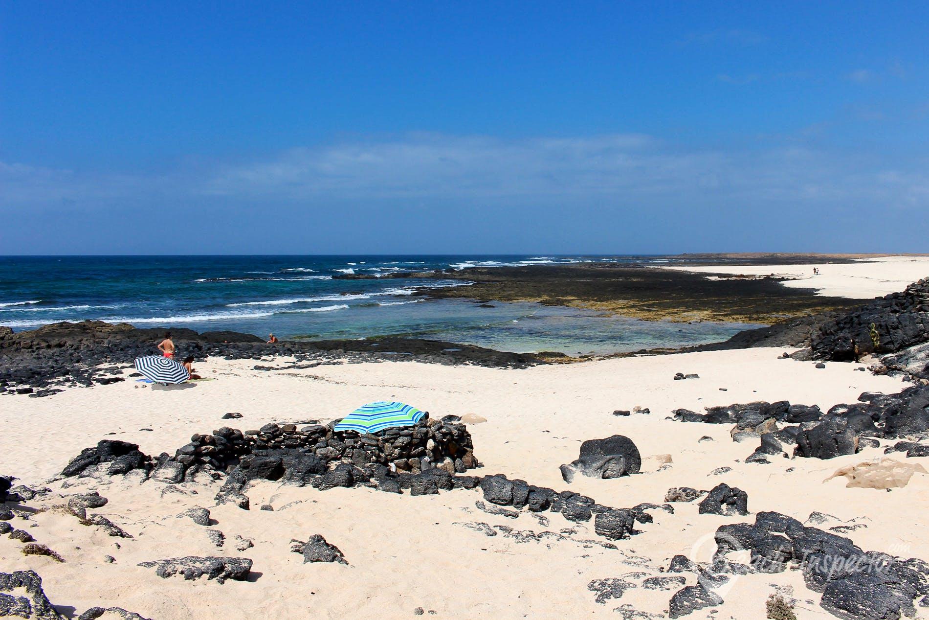 Beach El Marajo, Fuerteventura, Spain