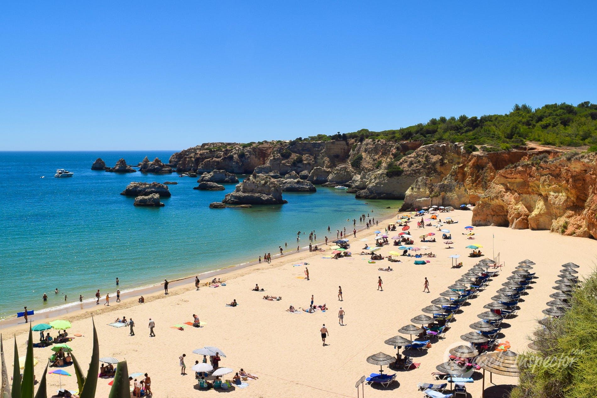 Beach Praia do Barranco das Canas, Algarve, Portugal