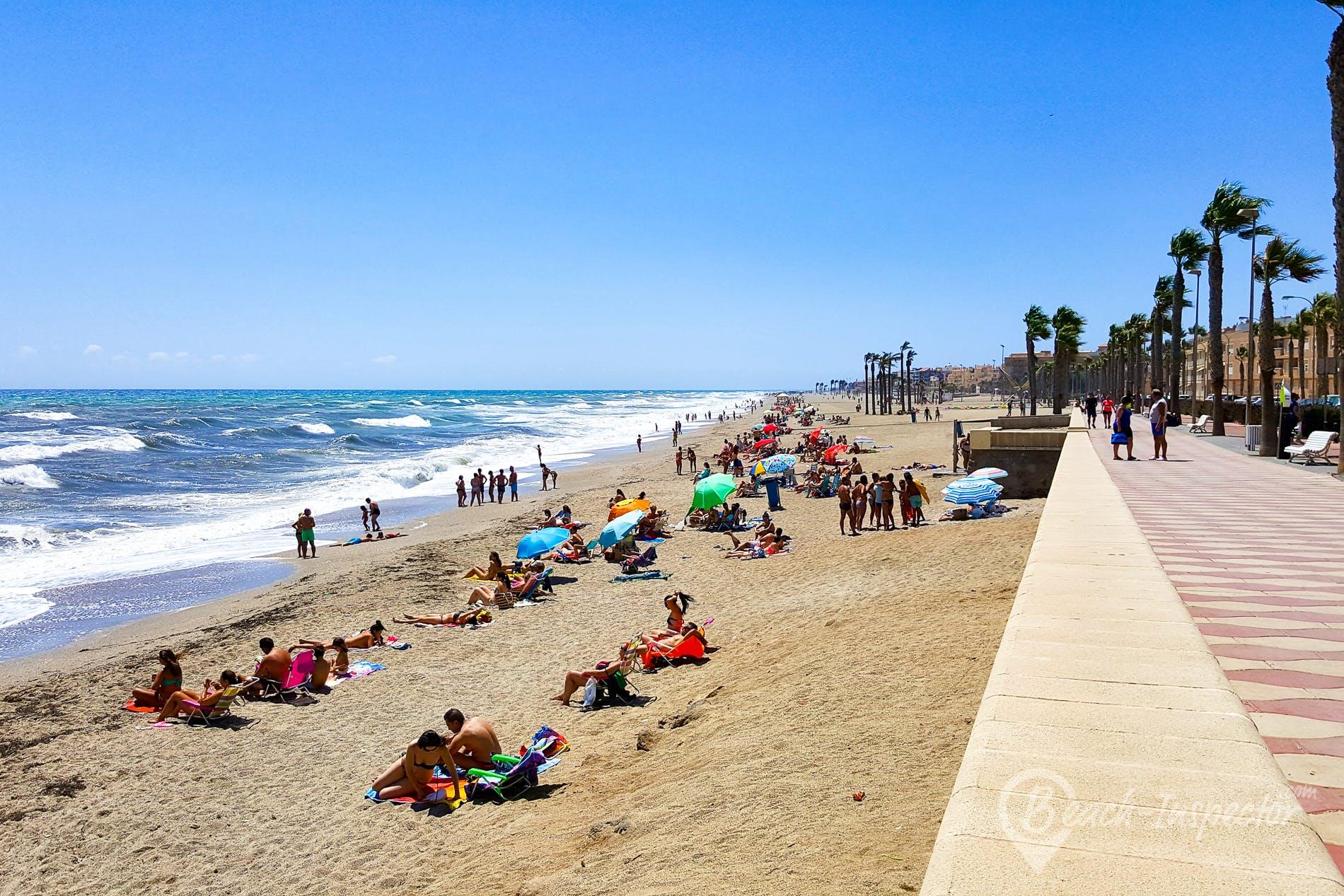 Playa Playa La Bajadilla, Costa de Almería, España