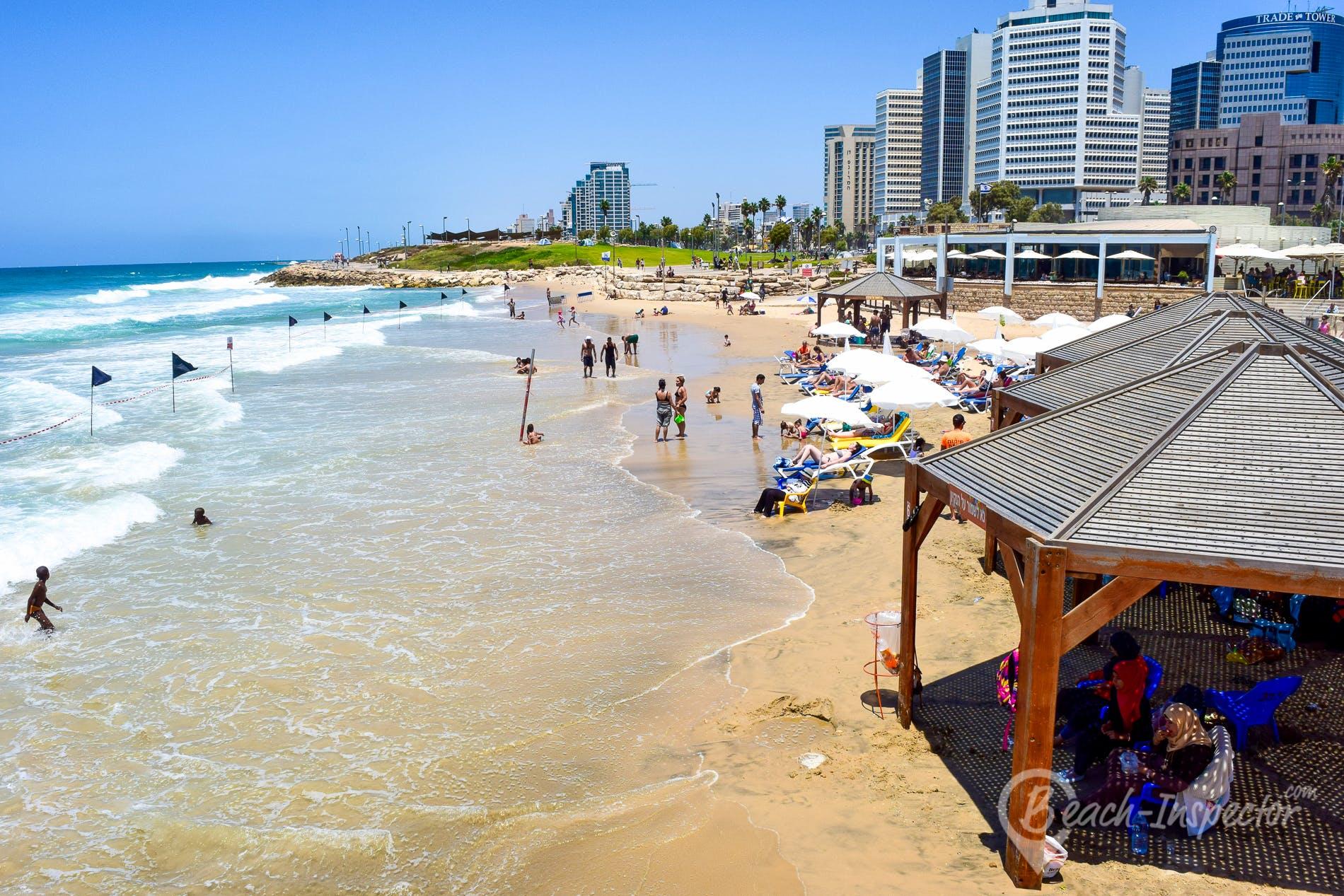 Playa Charles Clore Beach, Israel, Israel