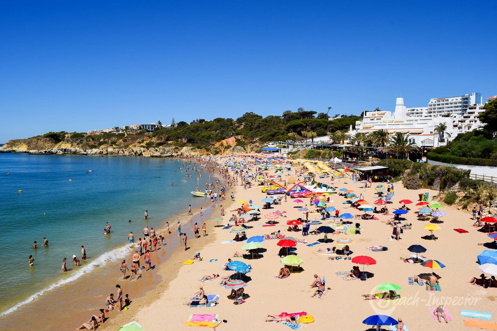 Strand Praia da Oura, Algarve, Portugal