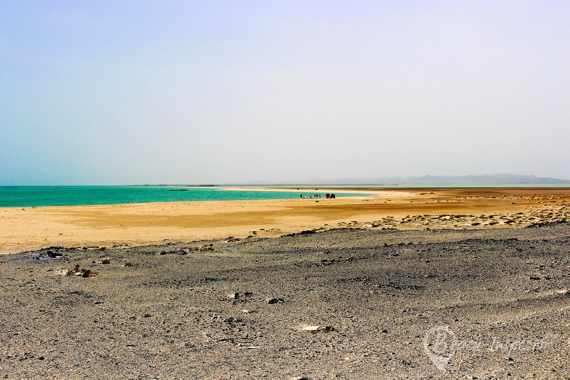 Beach Sur Masirah Bay, Oman, Oman