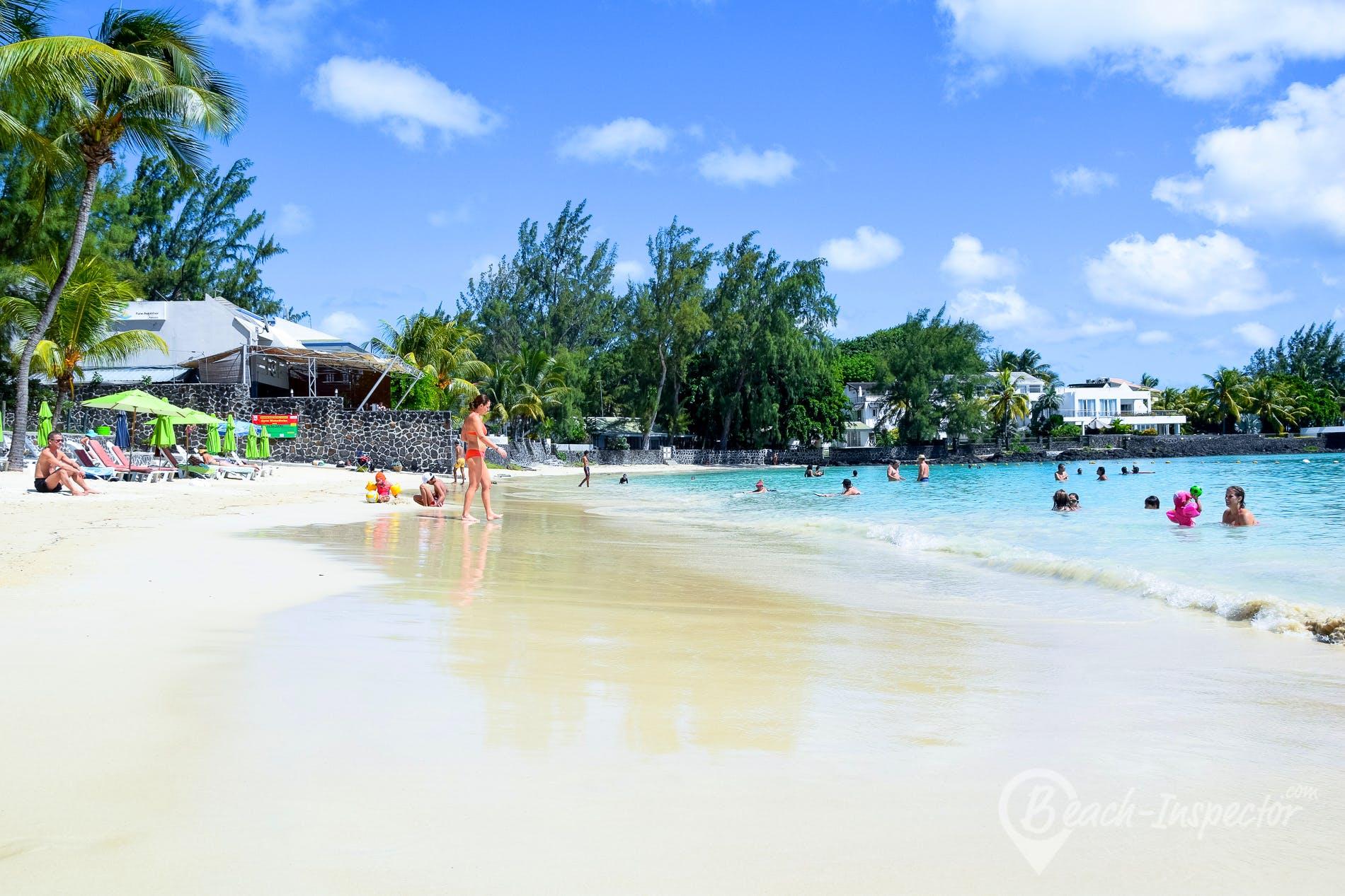 Beach Pereybère Beach, Mauritius,