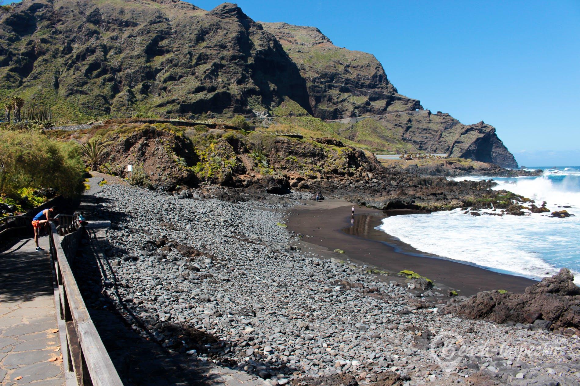 Playa Playa de las Arenas, Tenerife, España