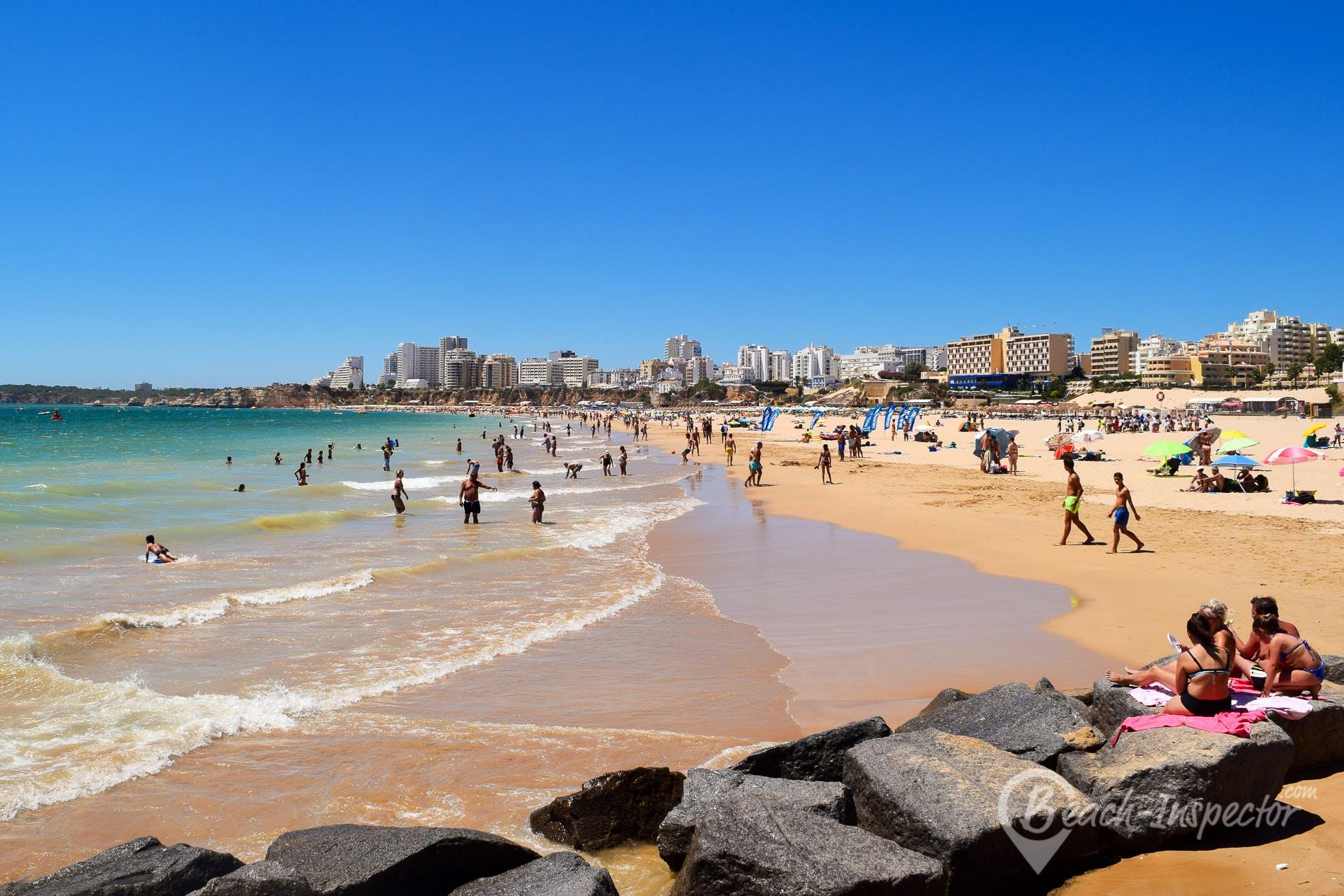 Playa Praia da Rocha, Algarve, Portugal