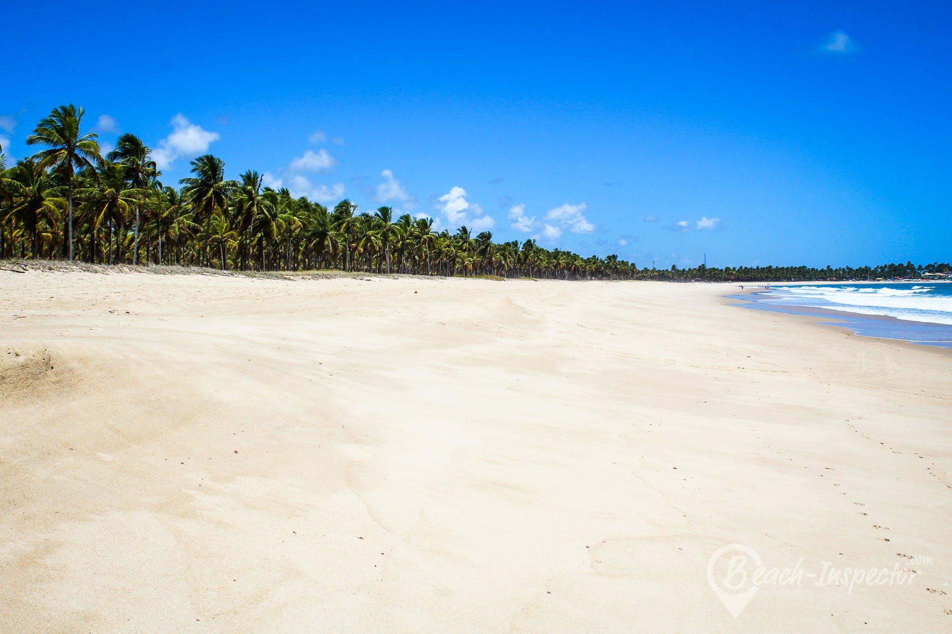Strand Maracaípe, Pernambuco, Brasilien