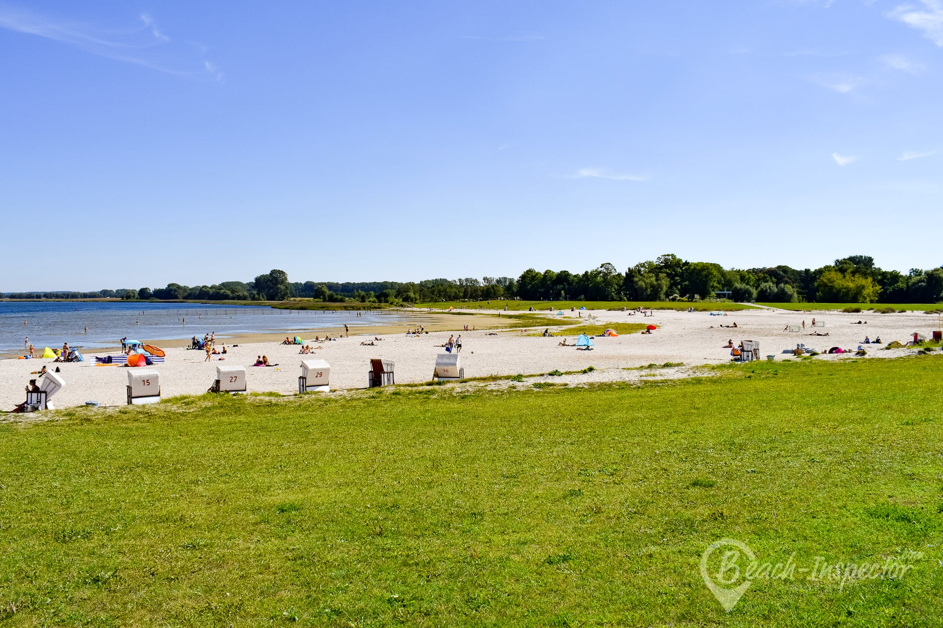 Playa Strandbad Eldena, Alemania, Alemania