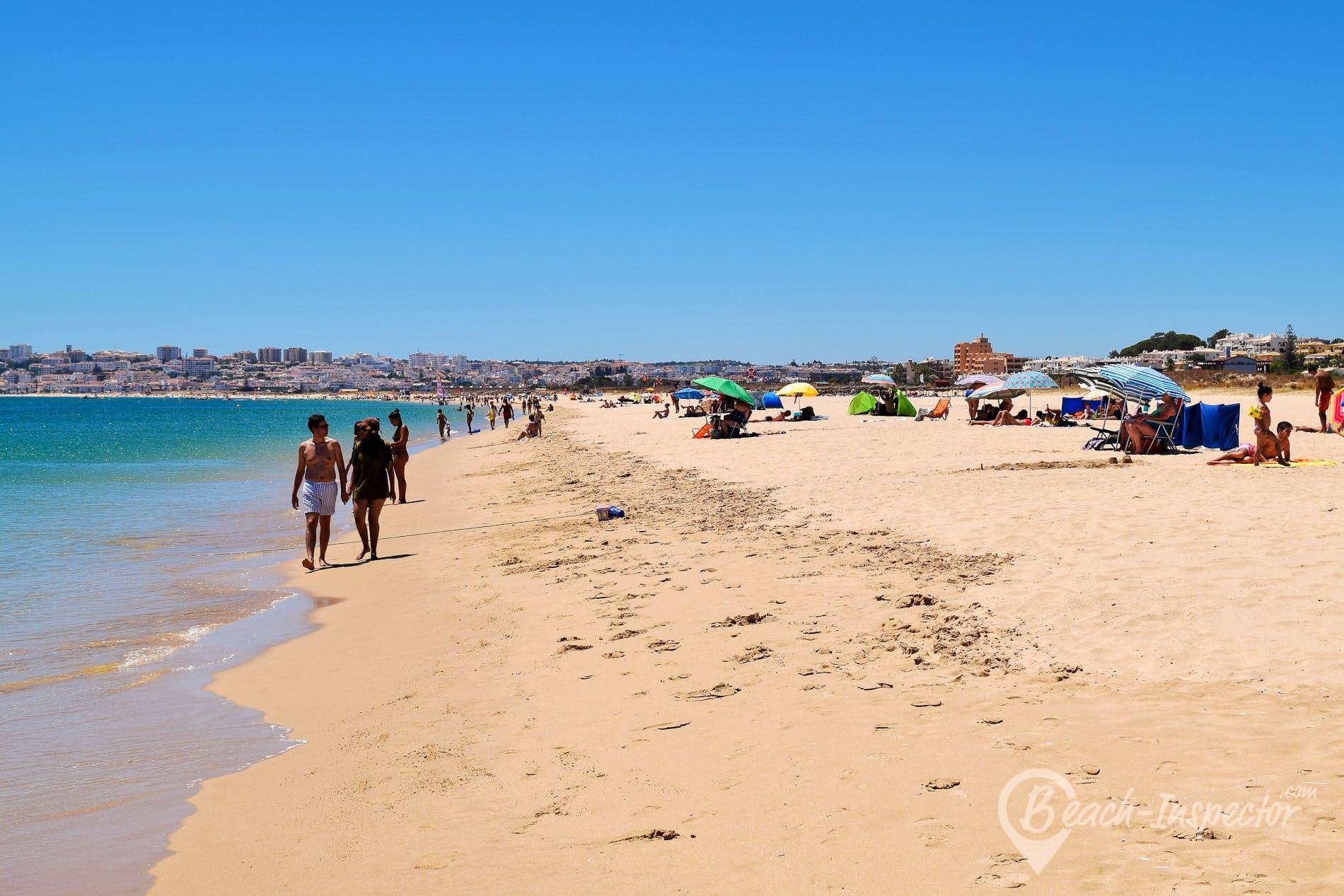 Beach Meia Praia, Algarve, Portugal