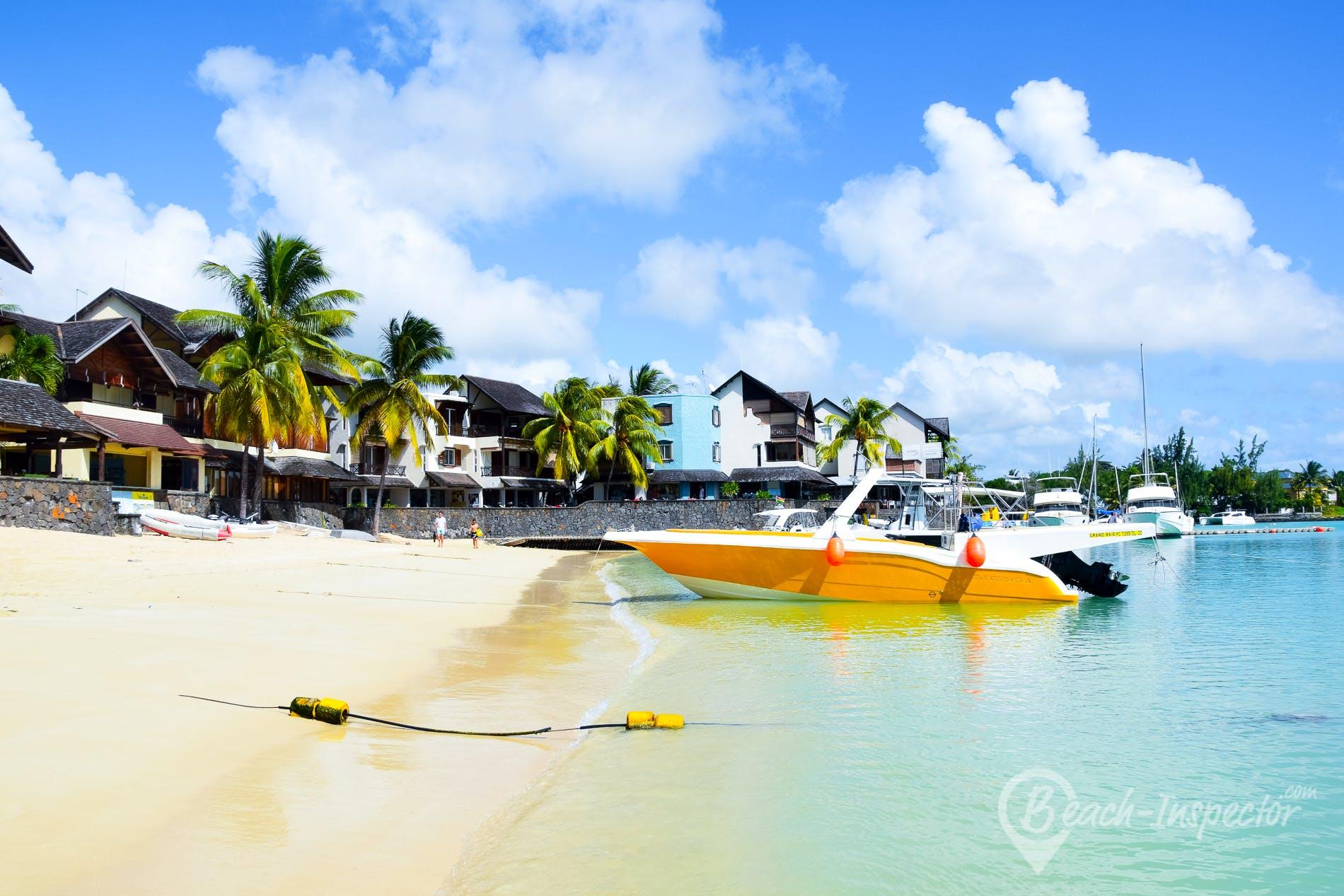 Beach Grand Baie Public Beach, Mauritius,