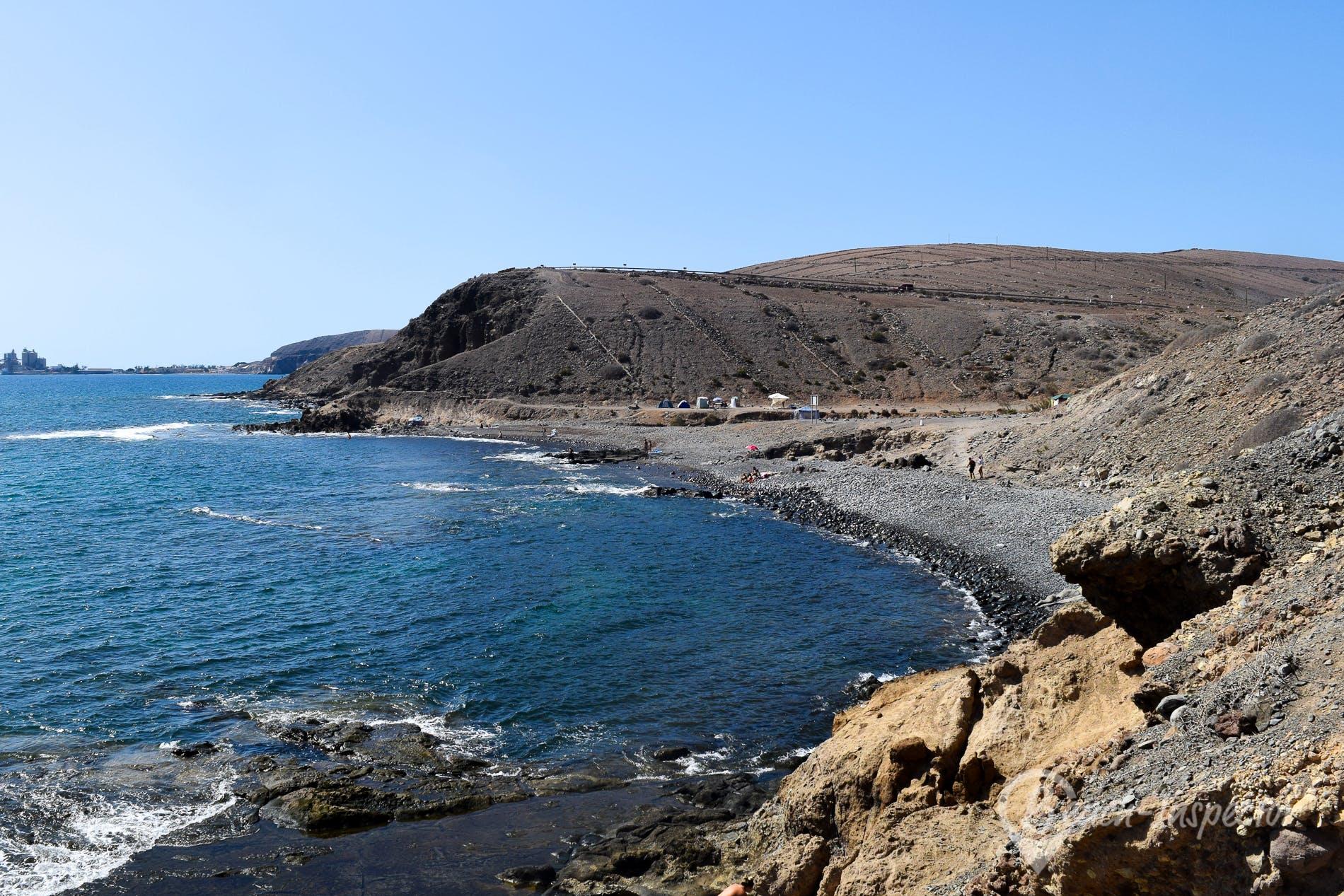 Playa Punta de las Carpinteras, Gran Canaria, España