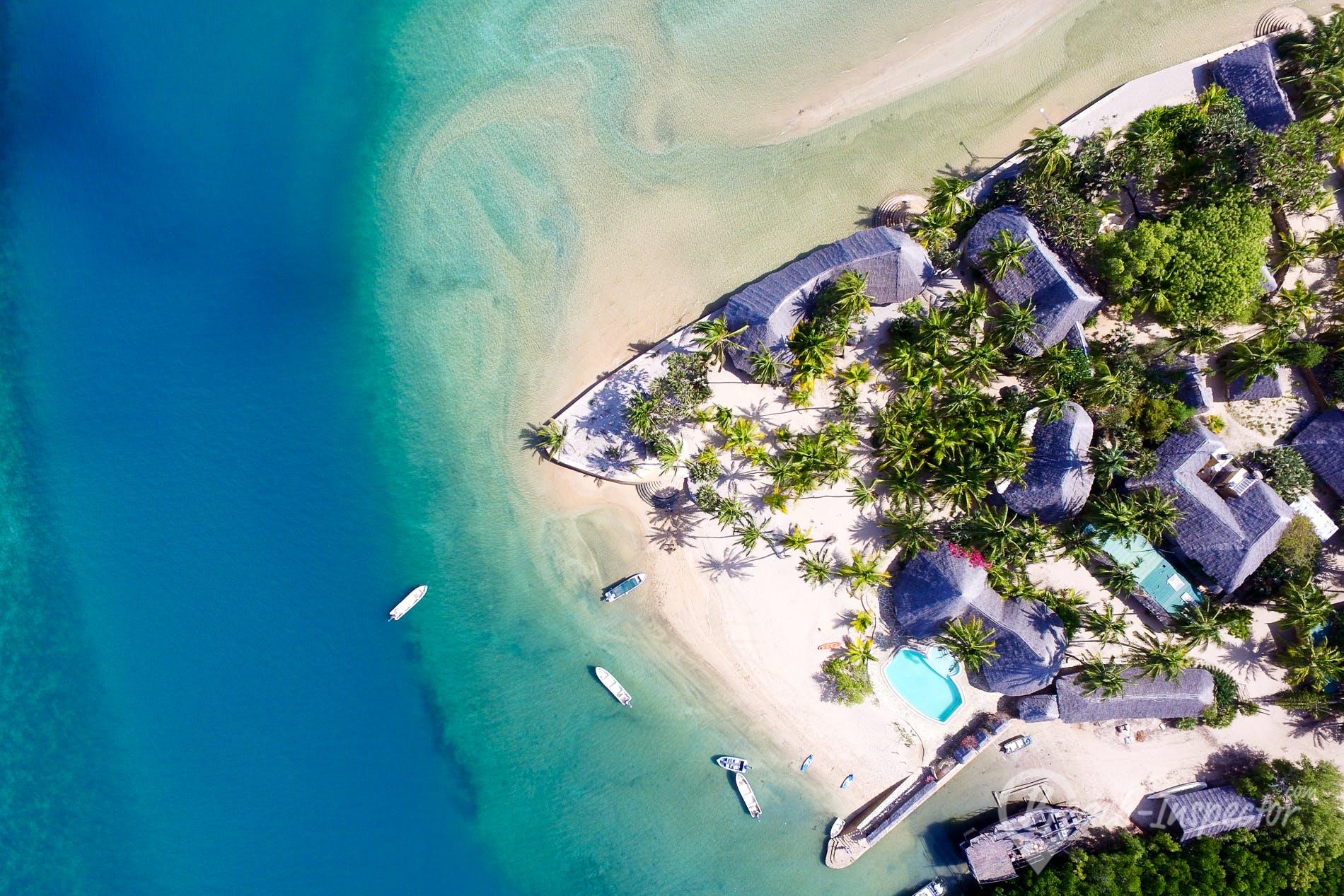Playa Manda Bay, Kenia, Kenia
