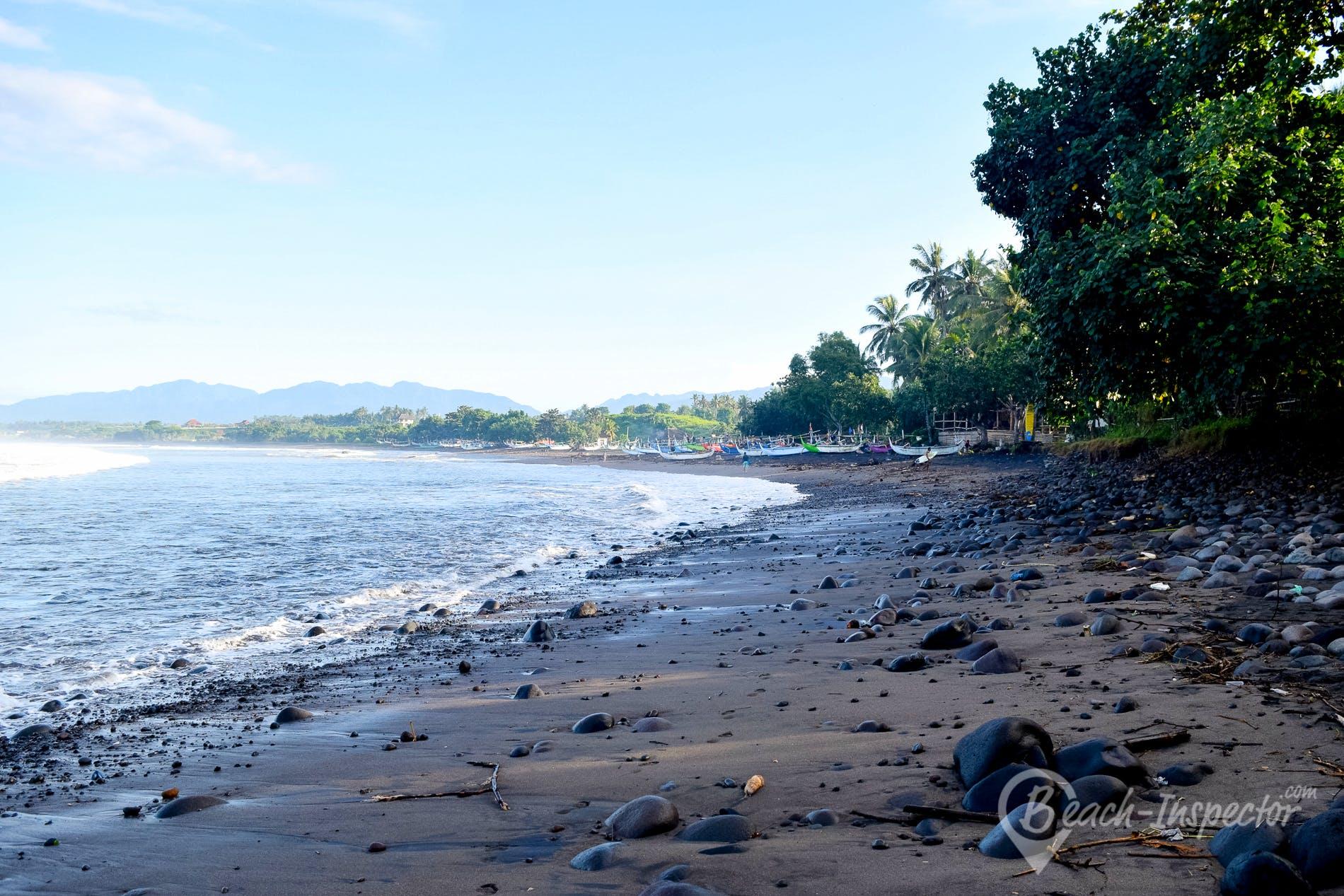Beach Medewi Beach, Bali, Indonesia