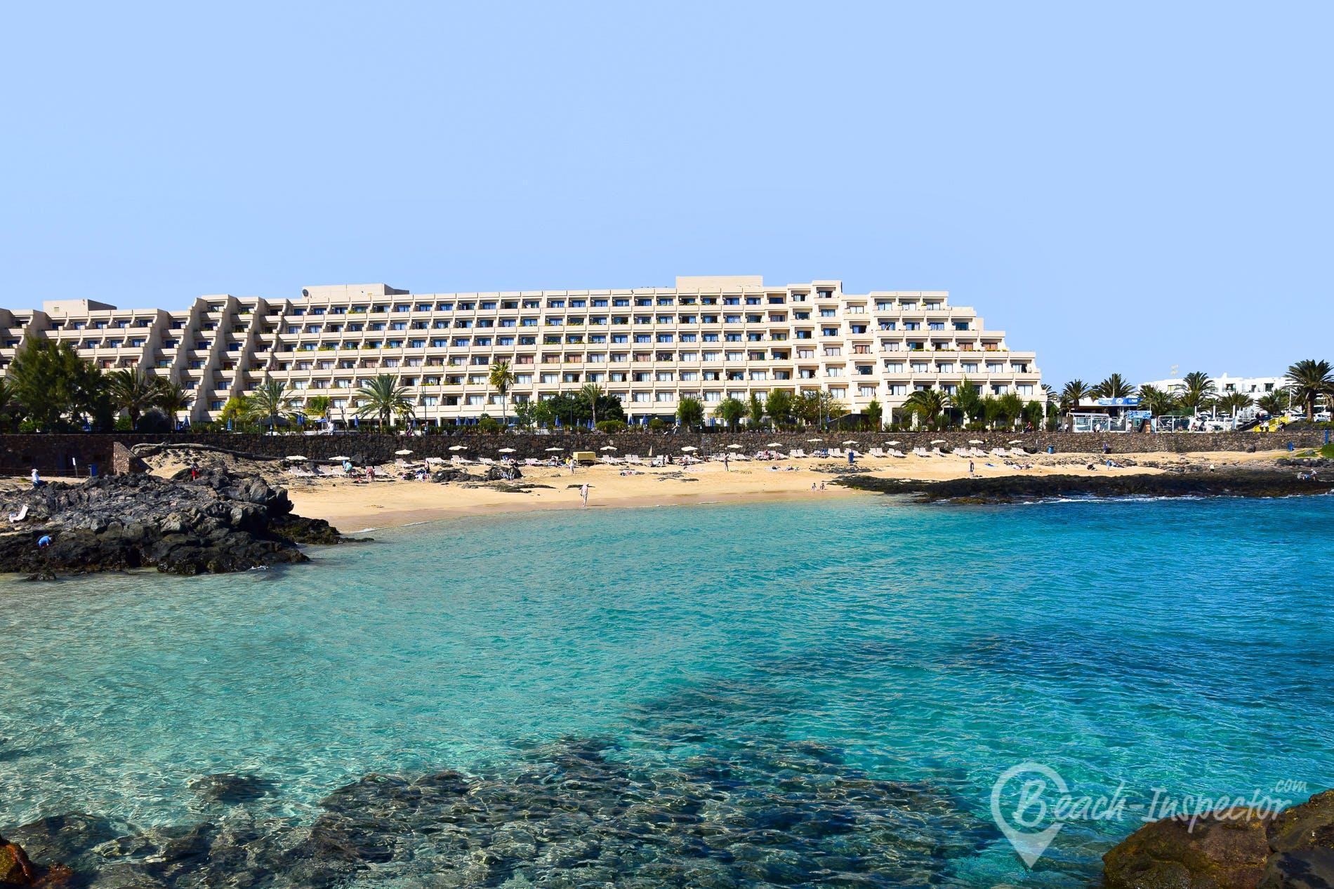 Beach Playa del Jablillo, Lanzarote, Spain