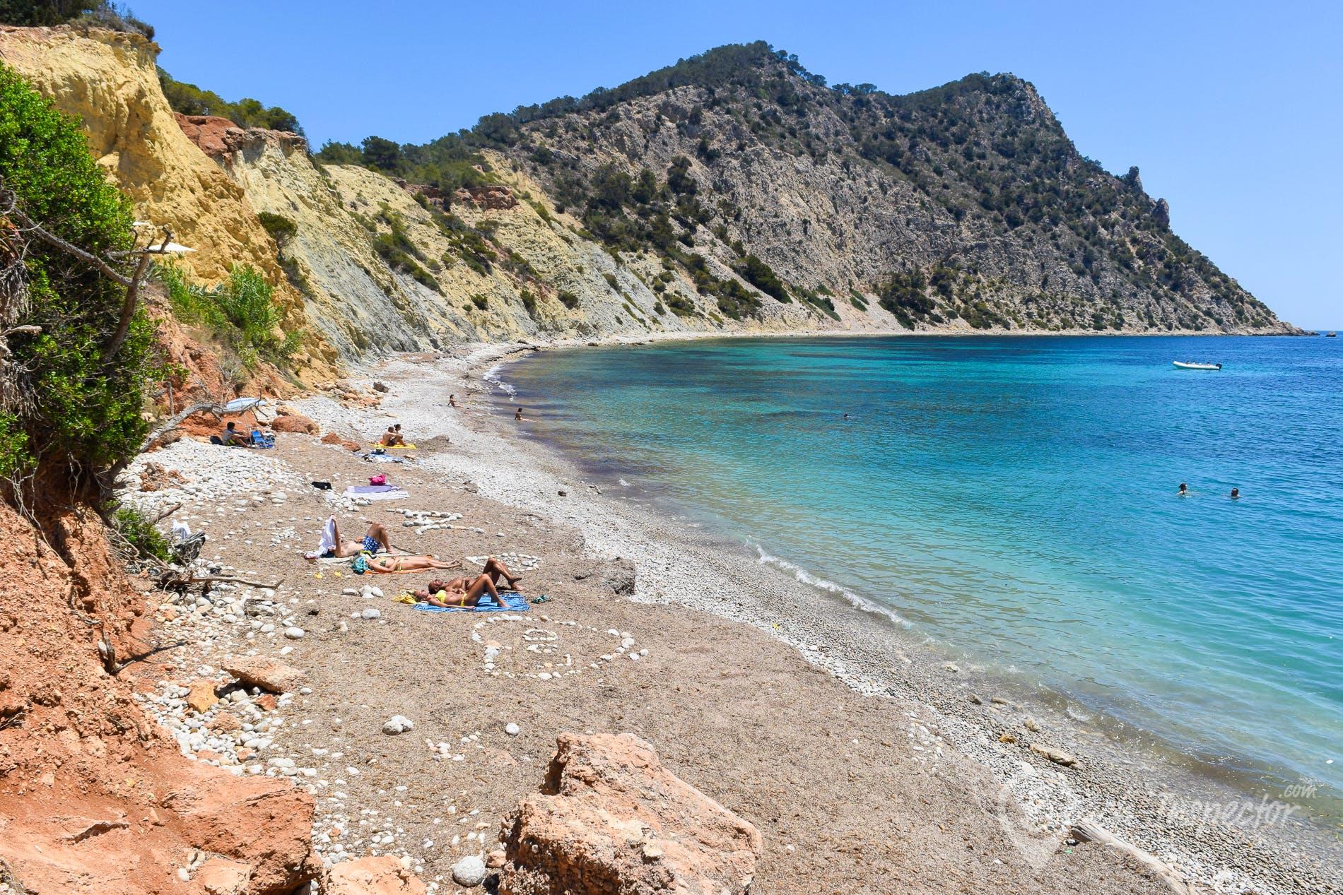 Strand Sol d'en Serra, Ibiza, Spanien
