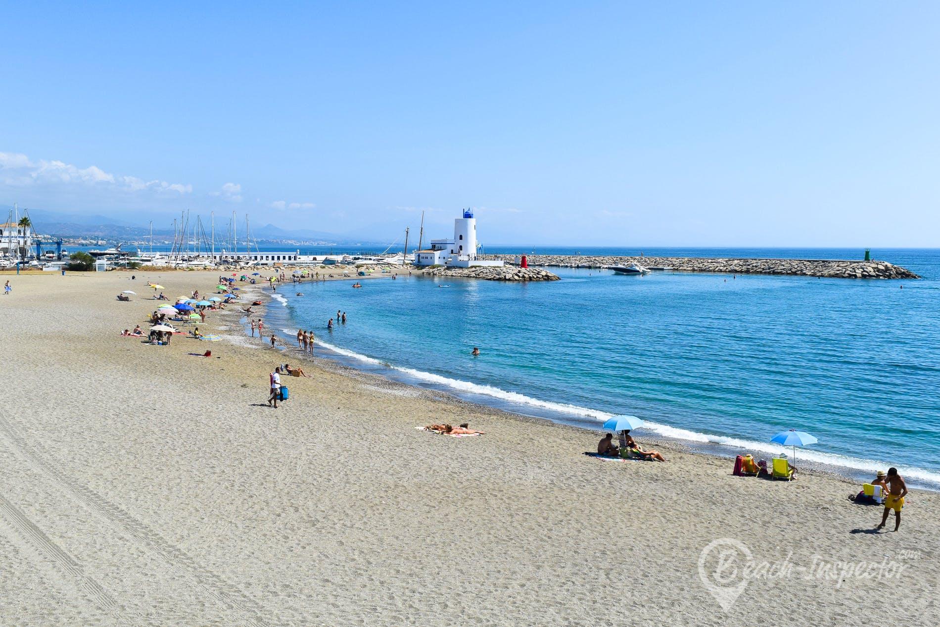 Strand Playa Gaviotas, Costa del Sol, Spanien