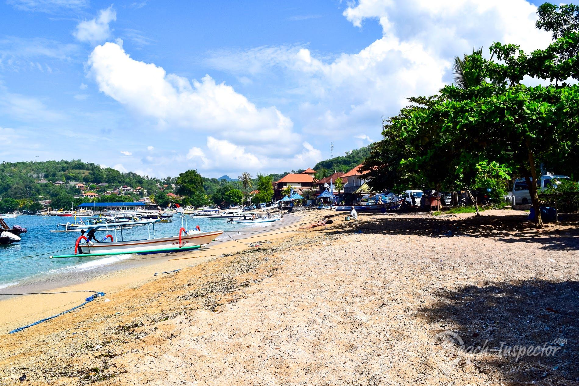 Beach Padang Bai Beach, Bali, Indonesia
