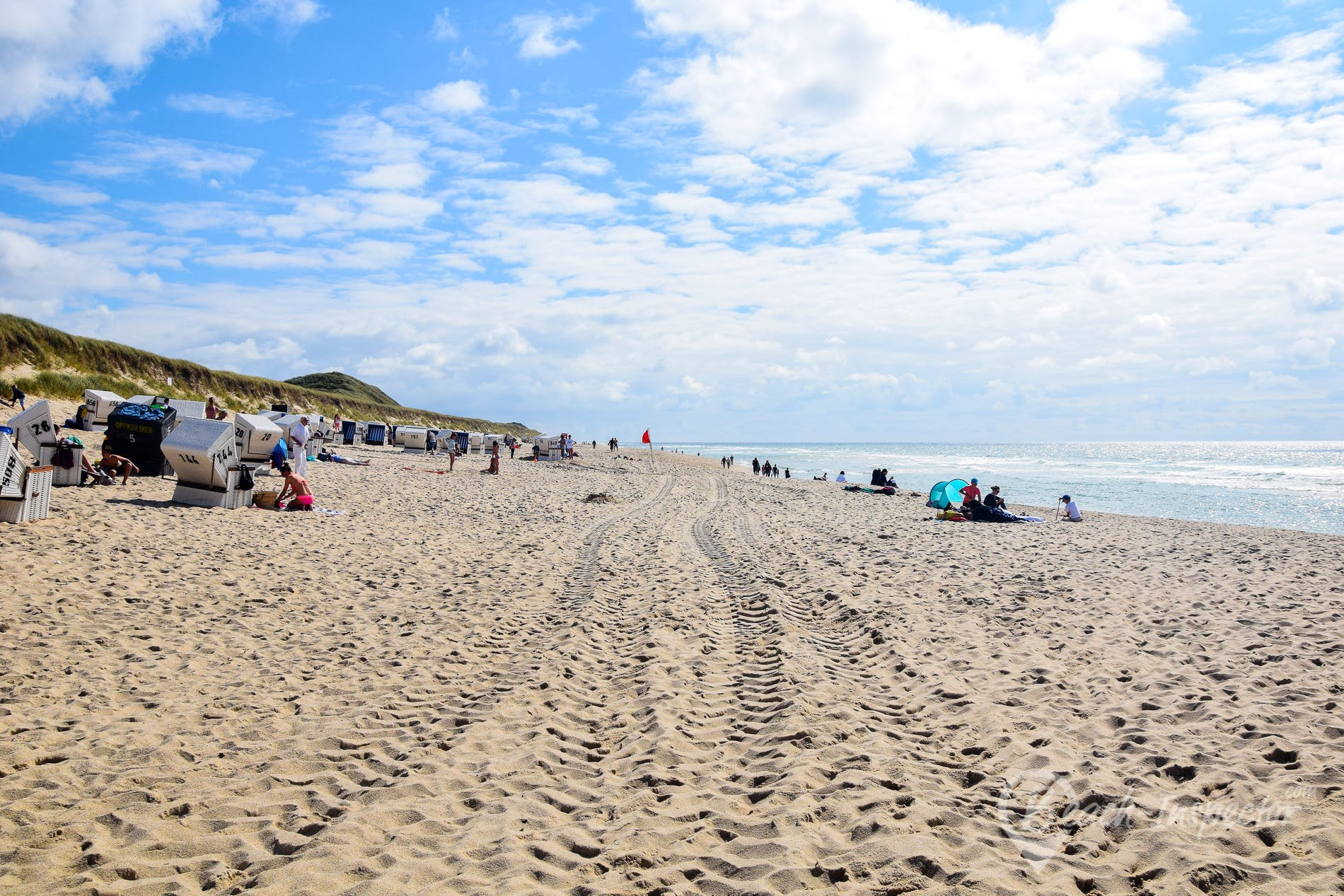 Strand Sansibar, Sylt, Deutschland