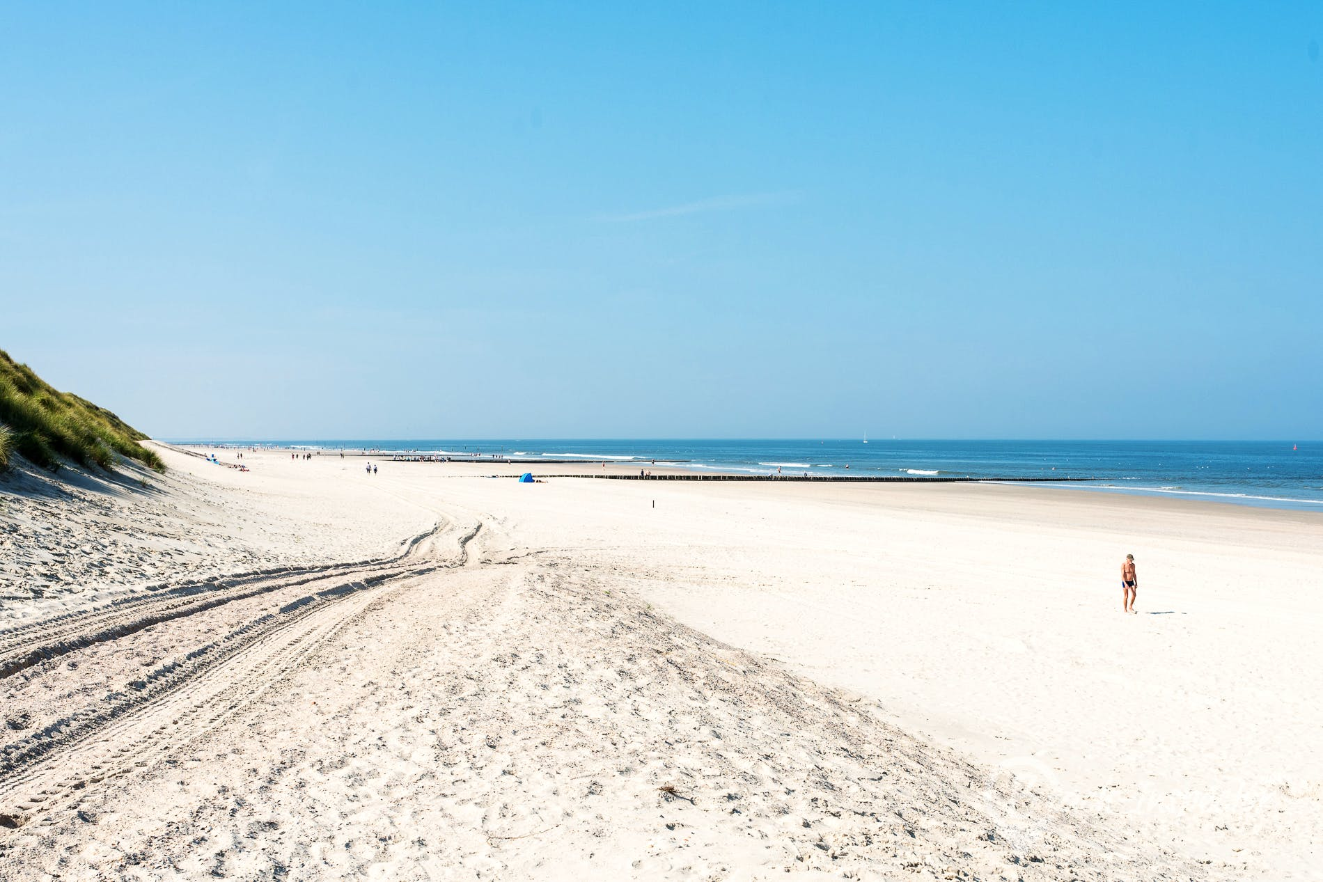 Strand Lippestrand, Norderney, Deutschland