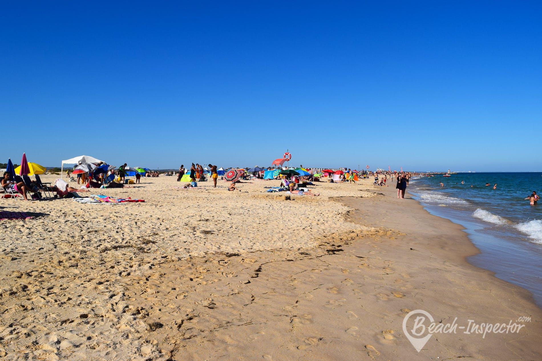 Strand Ilha de Tavira, Algarve, Portugal