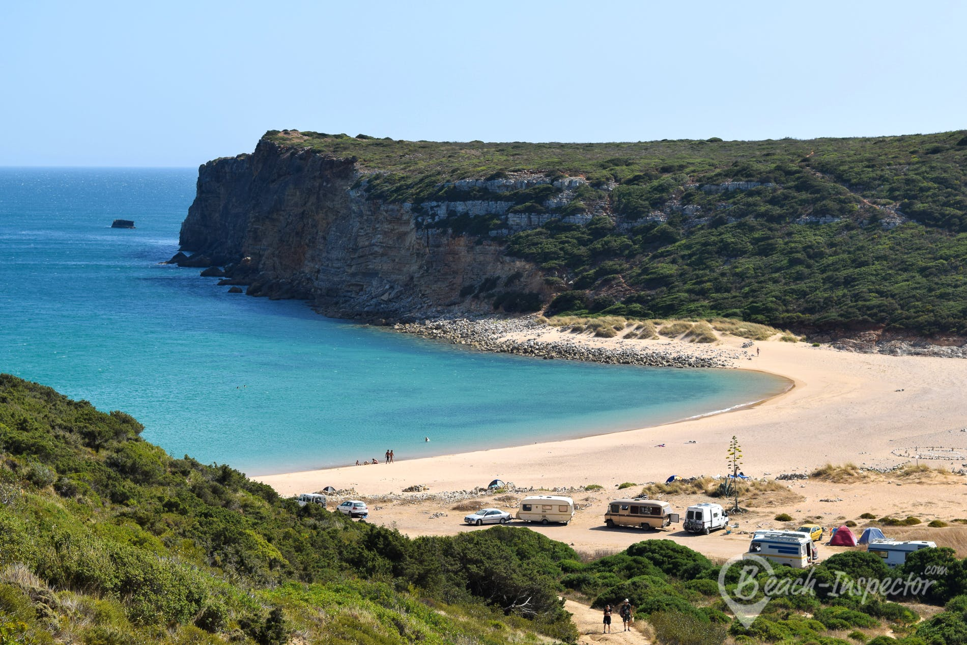 Beach Praia do Barranco, Algarve, Portugal