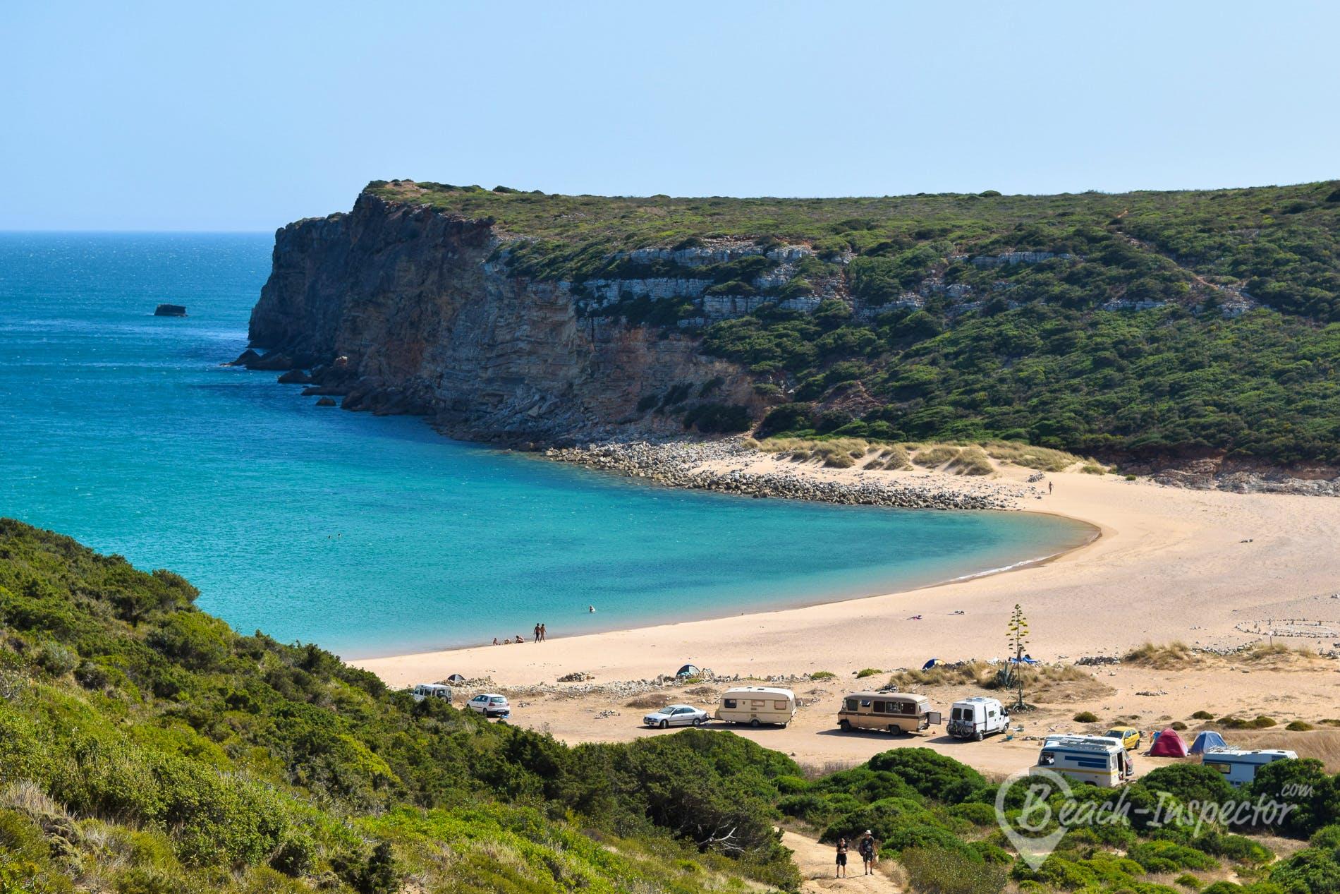 Strand Praia do Barranco, Algarve, Portugal