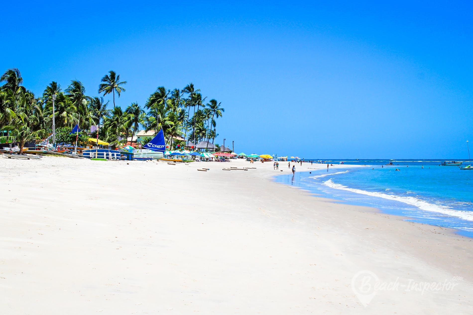 Strand Praia Porto de Galinhas, Pernambuco, Brasilien