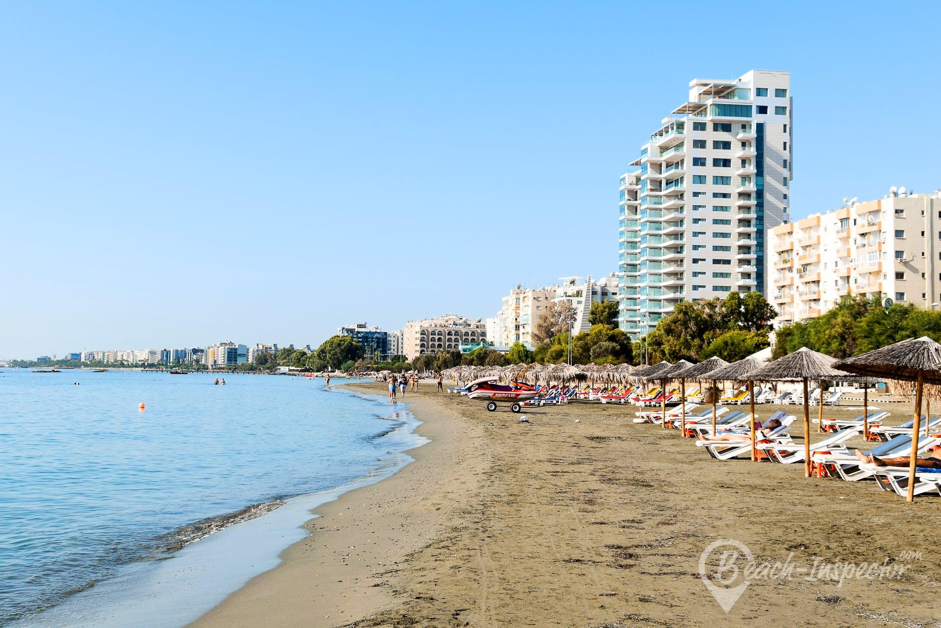 Playa Akti Olympion B Beach, Chipre, Chipre