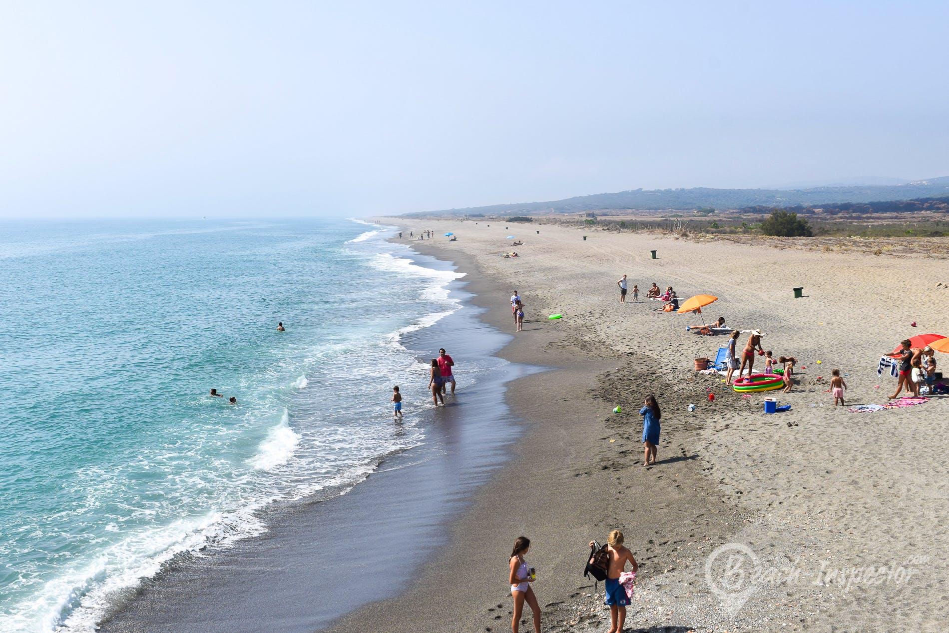 Beach Playa de Sotogrande, Costa del Sol, Spain