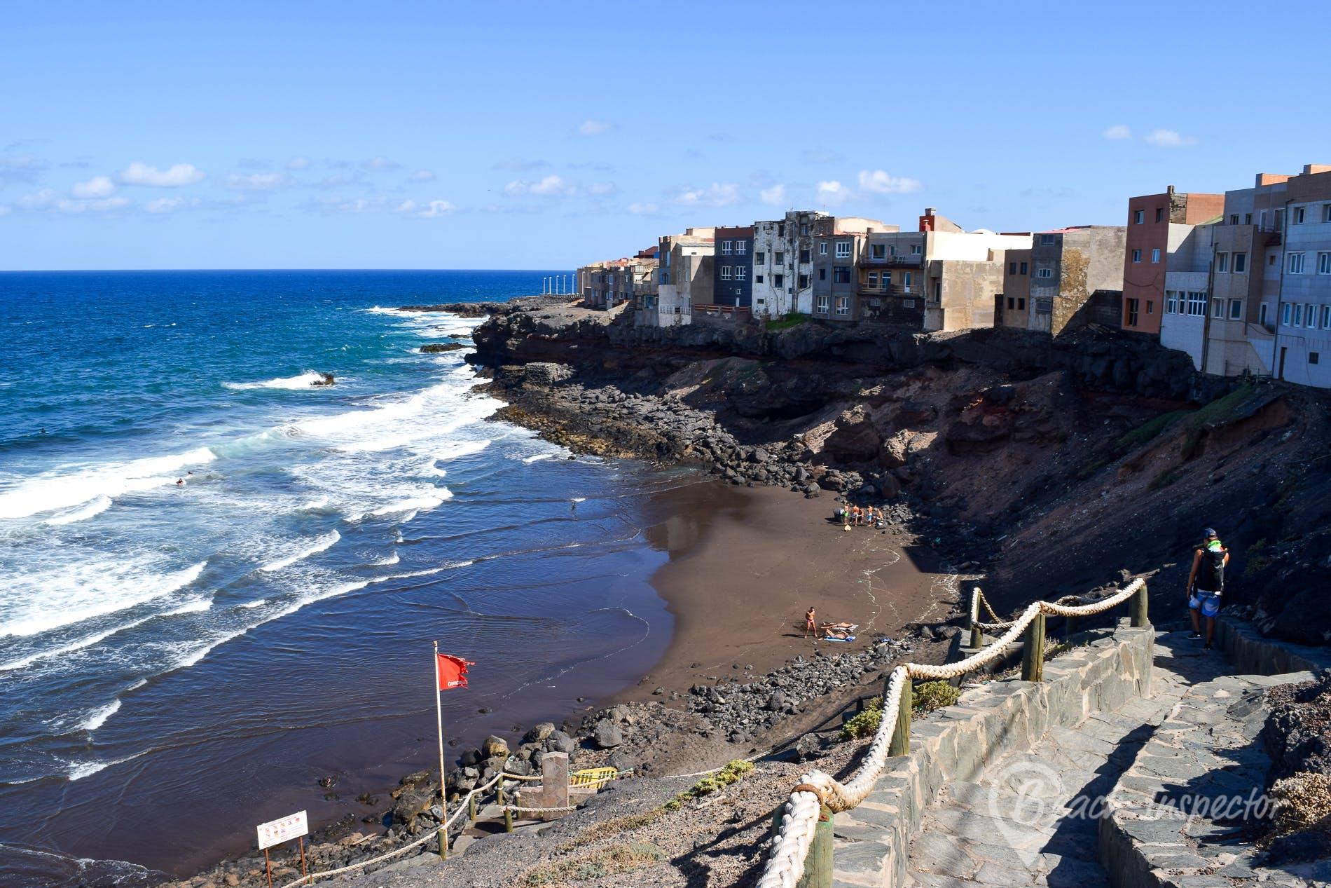 Beach Playa Palo Grande, Gran Canaria, Spain