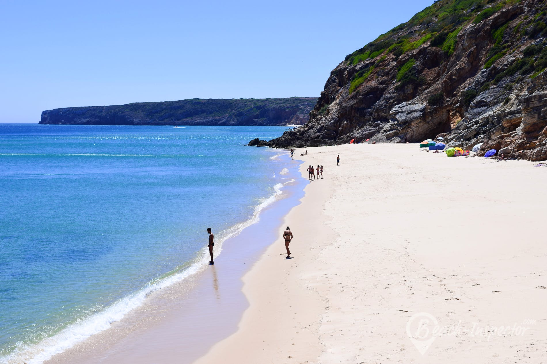 Strand Praia da Figueira, Algarve, Portugal