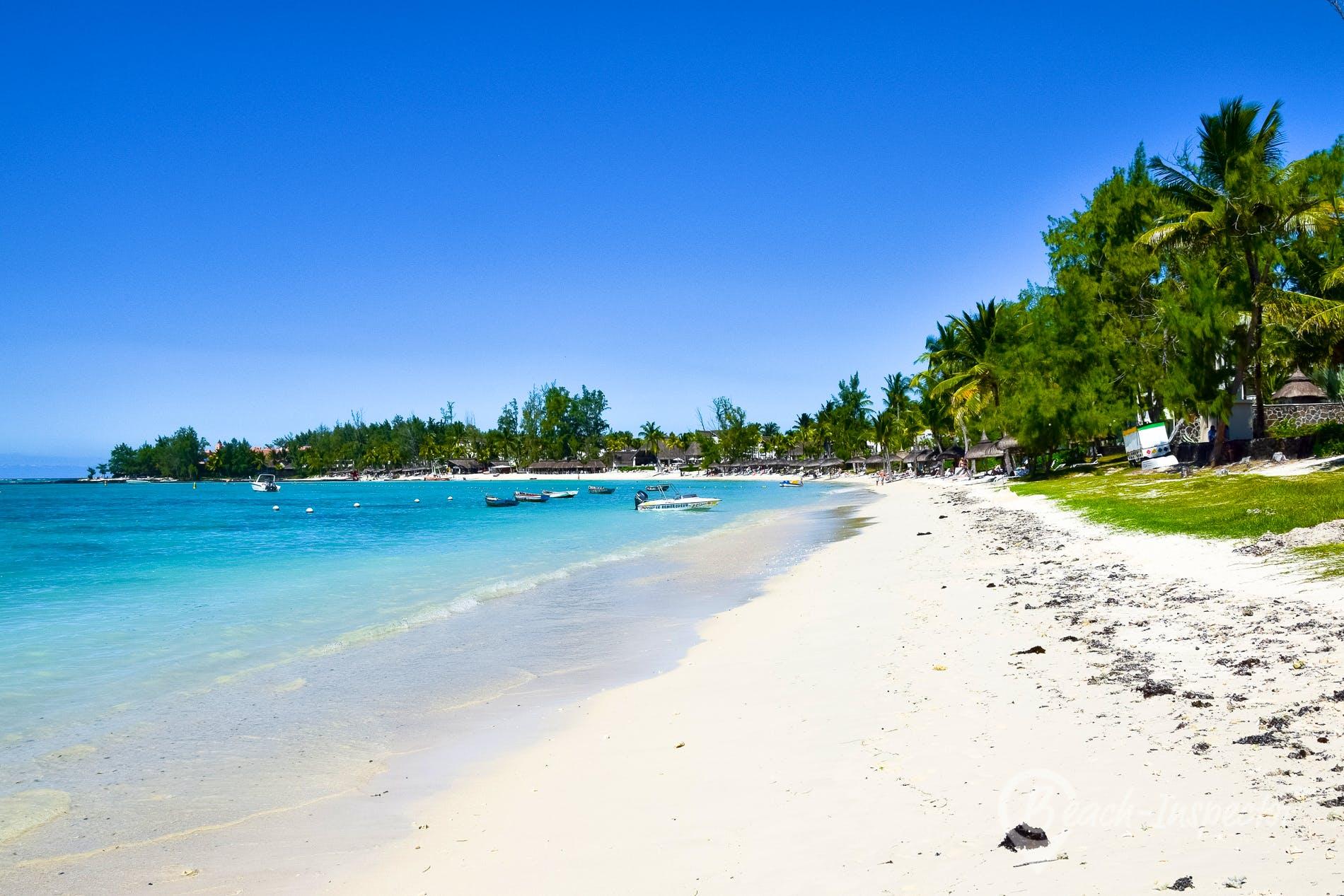 Playa Belle Mare Beach, Mauricio,