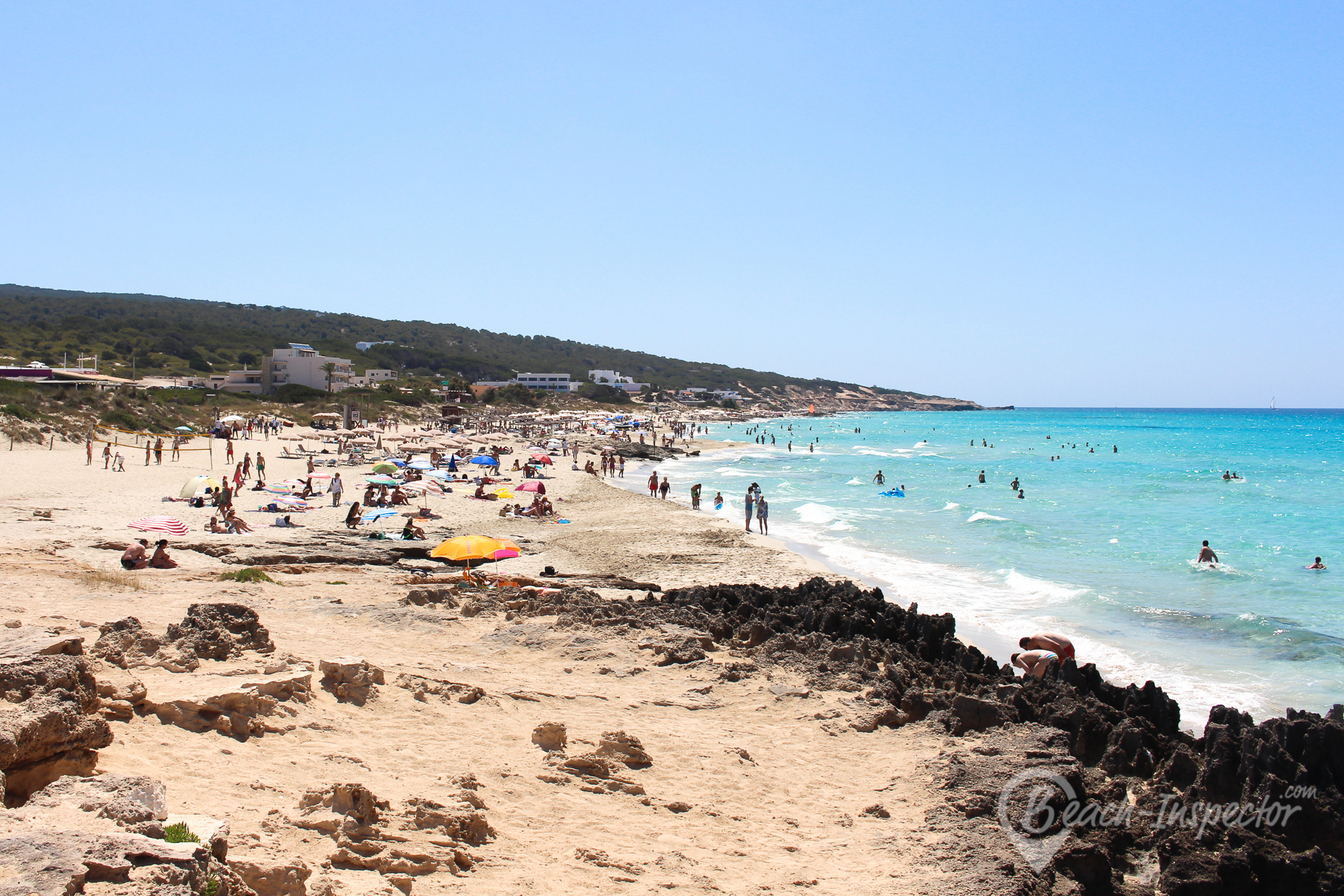 Beach map Formentera All beaches at a glance