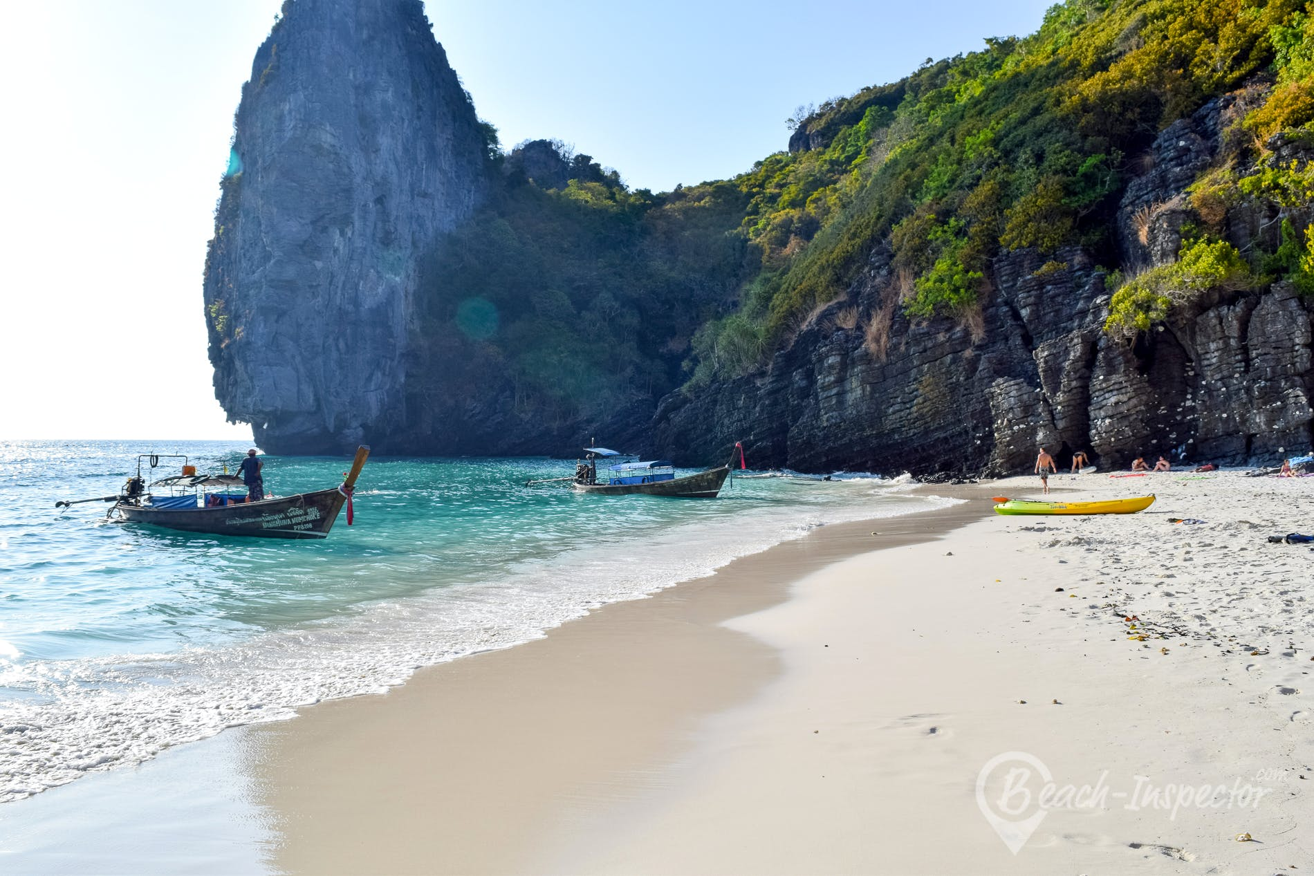 Playa Nui Beach, Koh Phi Phi, Tailandia