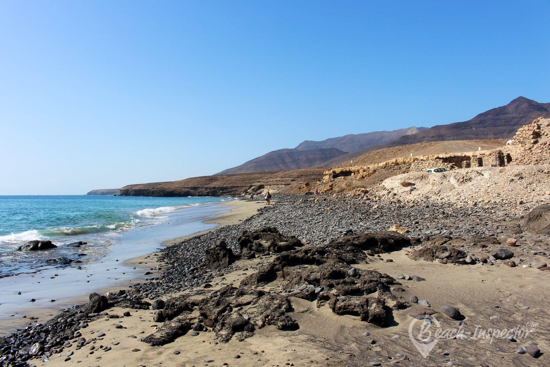 Beach Playa de la Señora, Fuerteventura, Spain