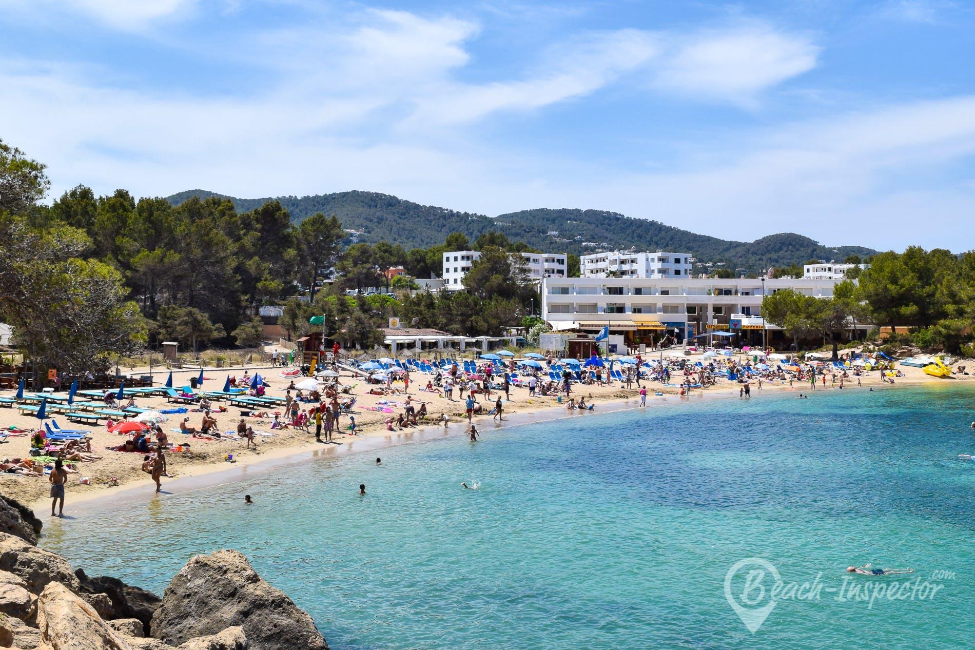 Beach Port d'es Torrent, Ibiza, Spain