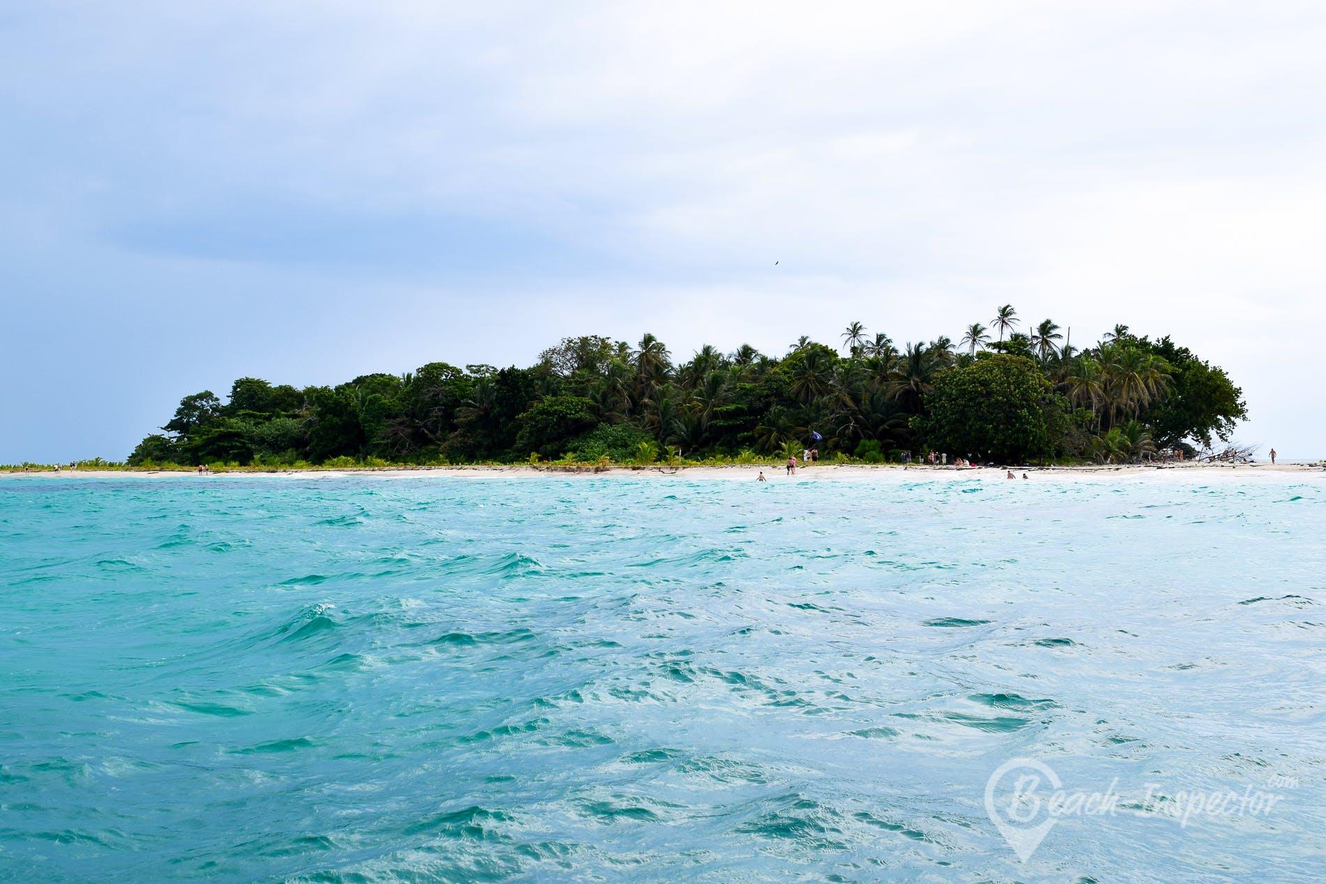 Beach Cayo Zapatilla 1, Panama, Panama